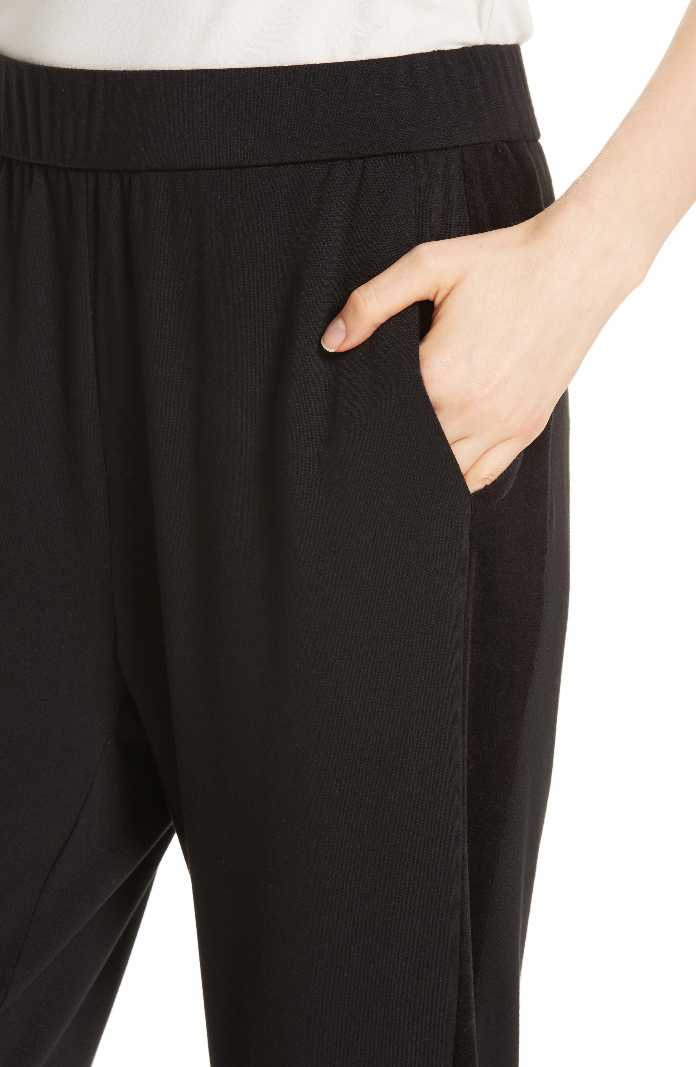 Jogger Pants,                             Alternate thumbnail 4, color,                             BLACK