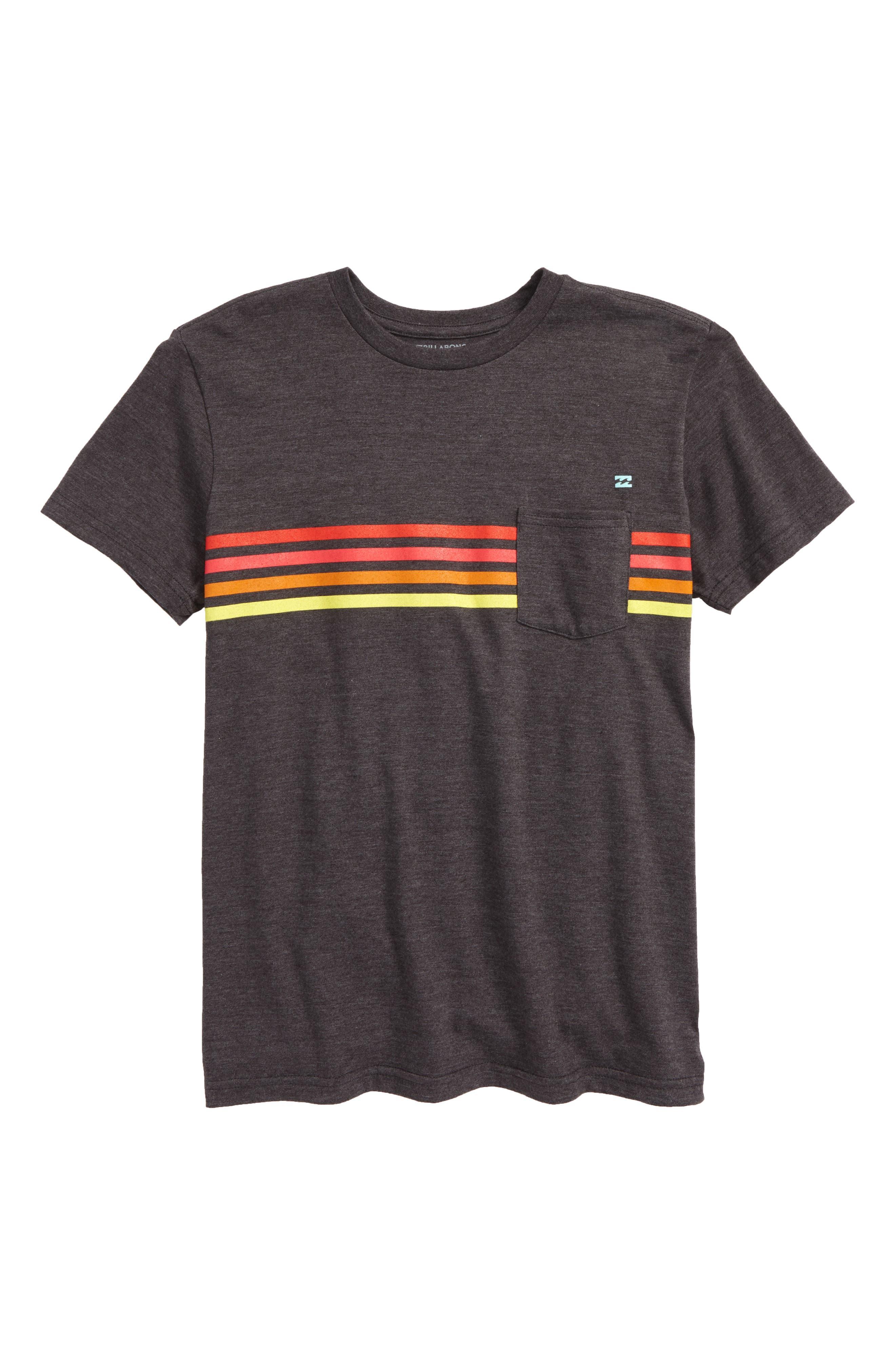 Team Stripe T-Shirt,                             Main thumbnail 1, color,