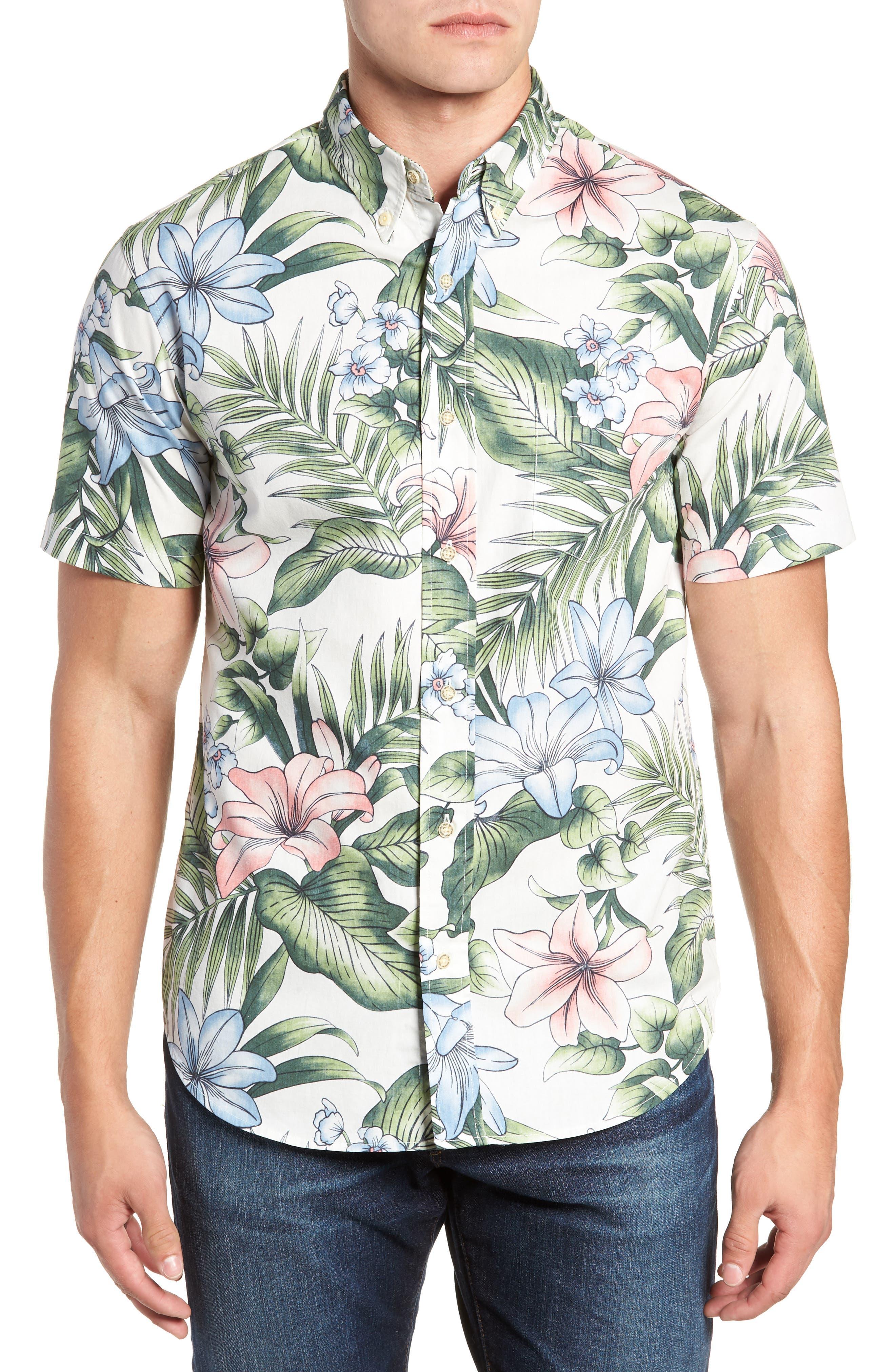 Uluhehi Regular Fit Sport Shirt,                         Main,                         color, 104