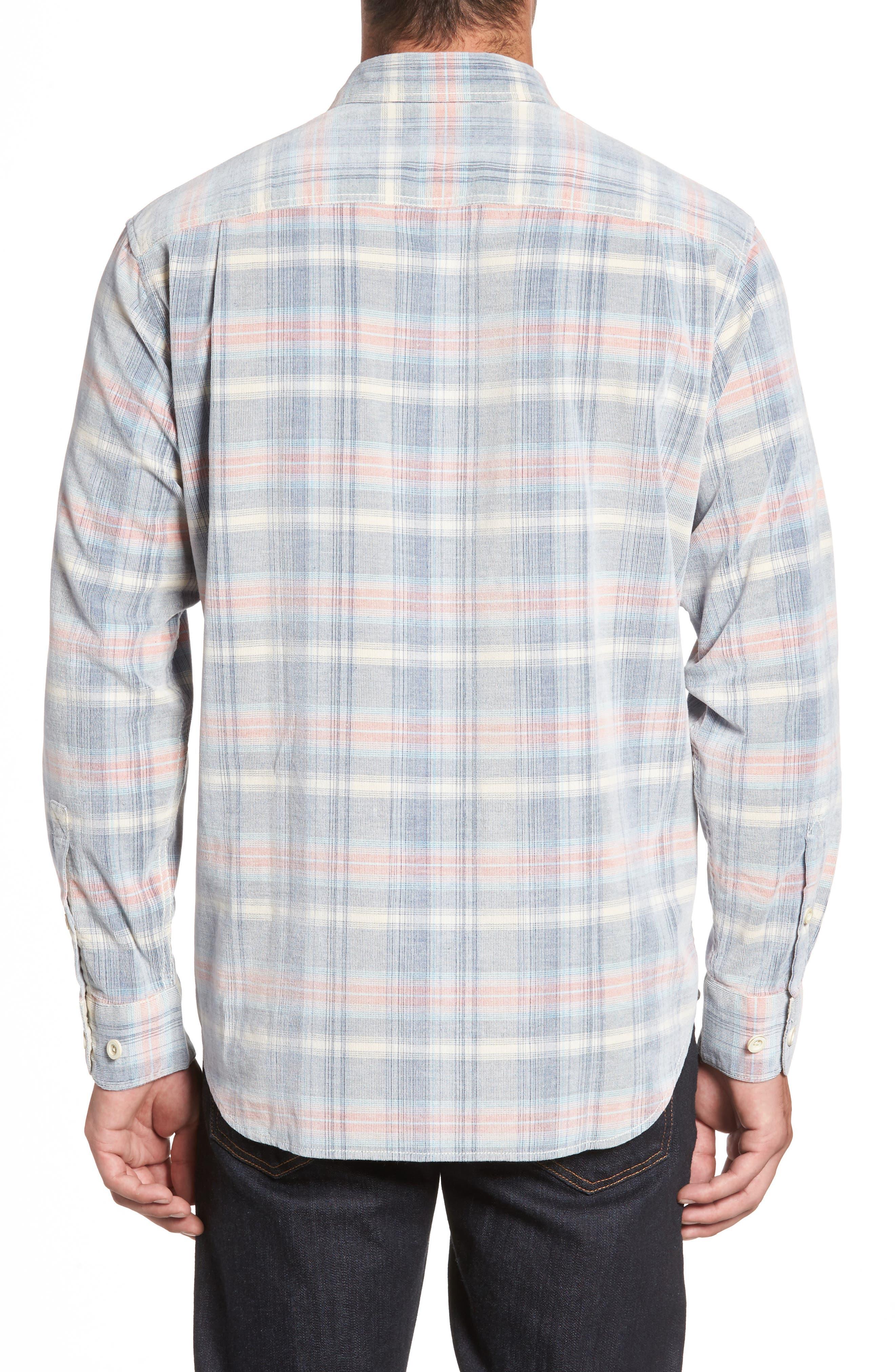 Cordwalk Plaid Plaid Sport Shirt,                             Alternate thumbnail 2, color,                             400