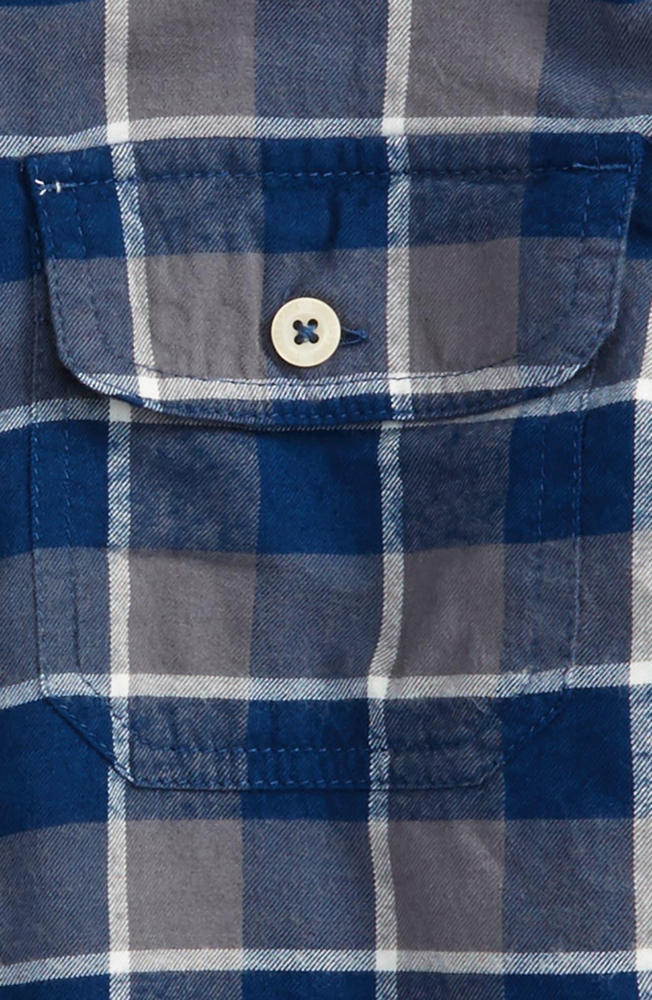 Ultrasoft Flannel Shirt,                             Alternate thumbnail 6, color,