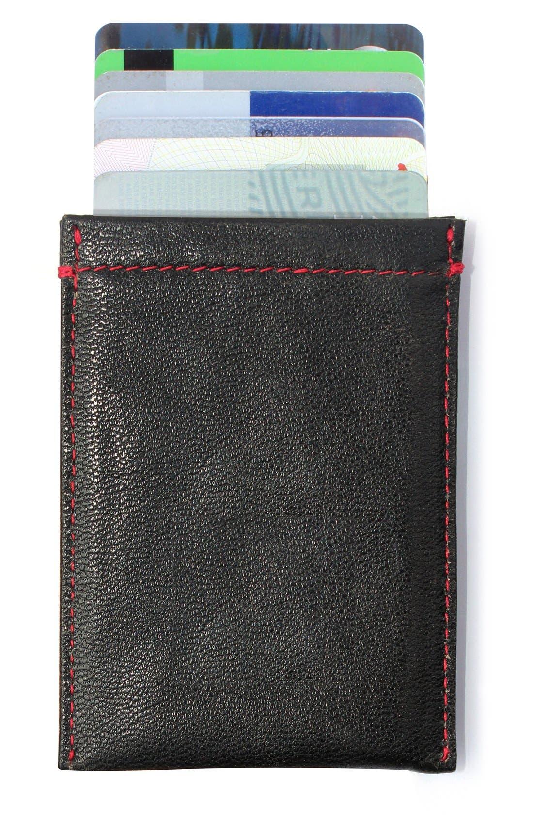 RFID Card Case,                             Alternate thumbnail 2, color,                             BLACK