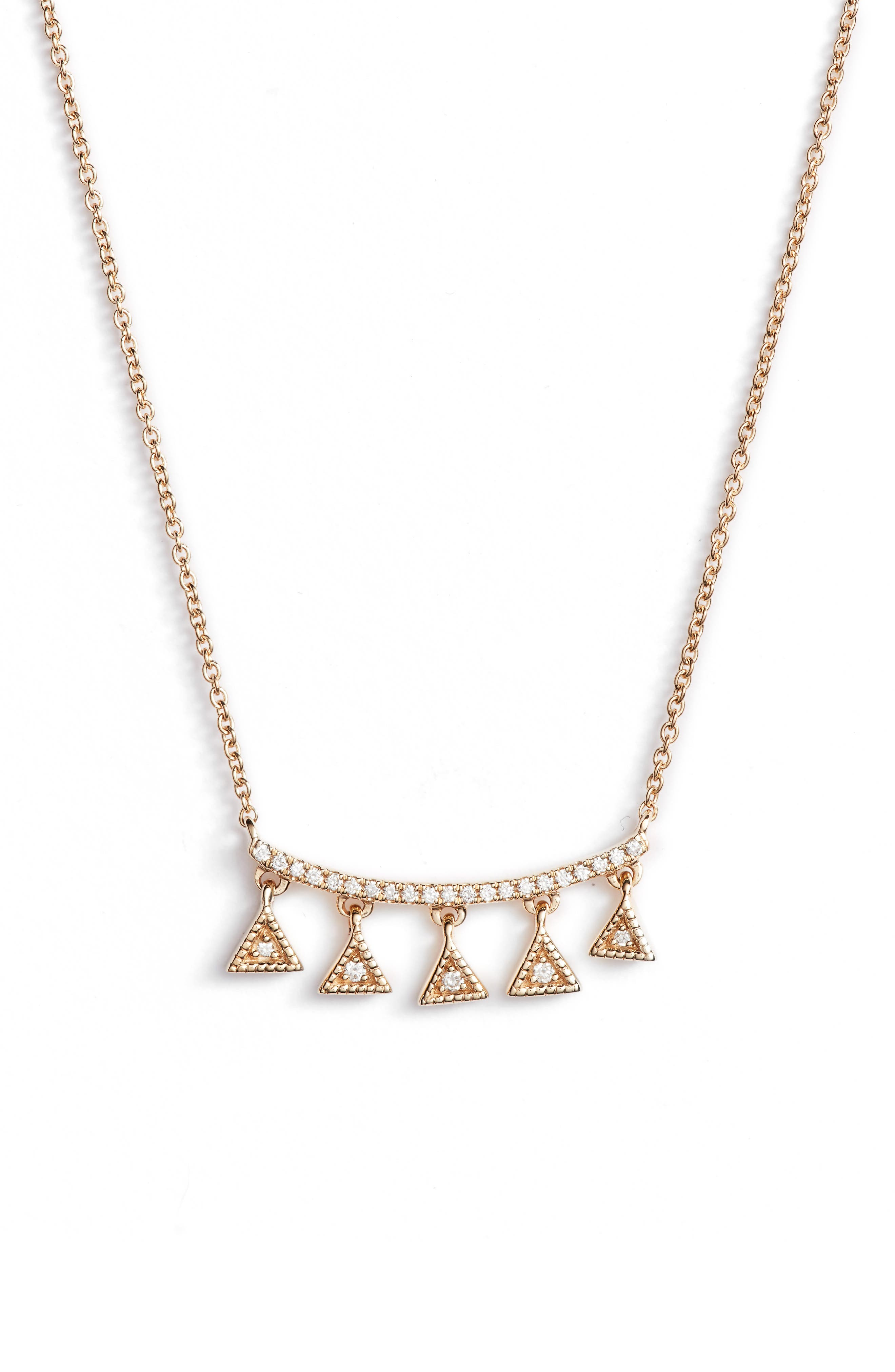 Emily Sarah Diamond Pendant Necklace,                             Main thumbnail 1, color,                             710