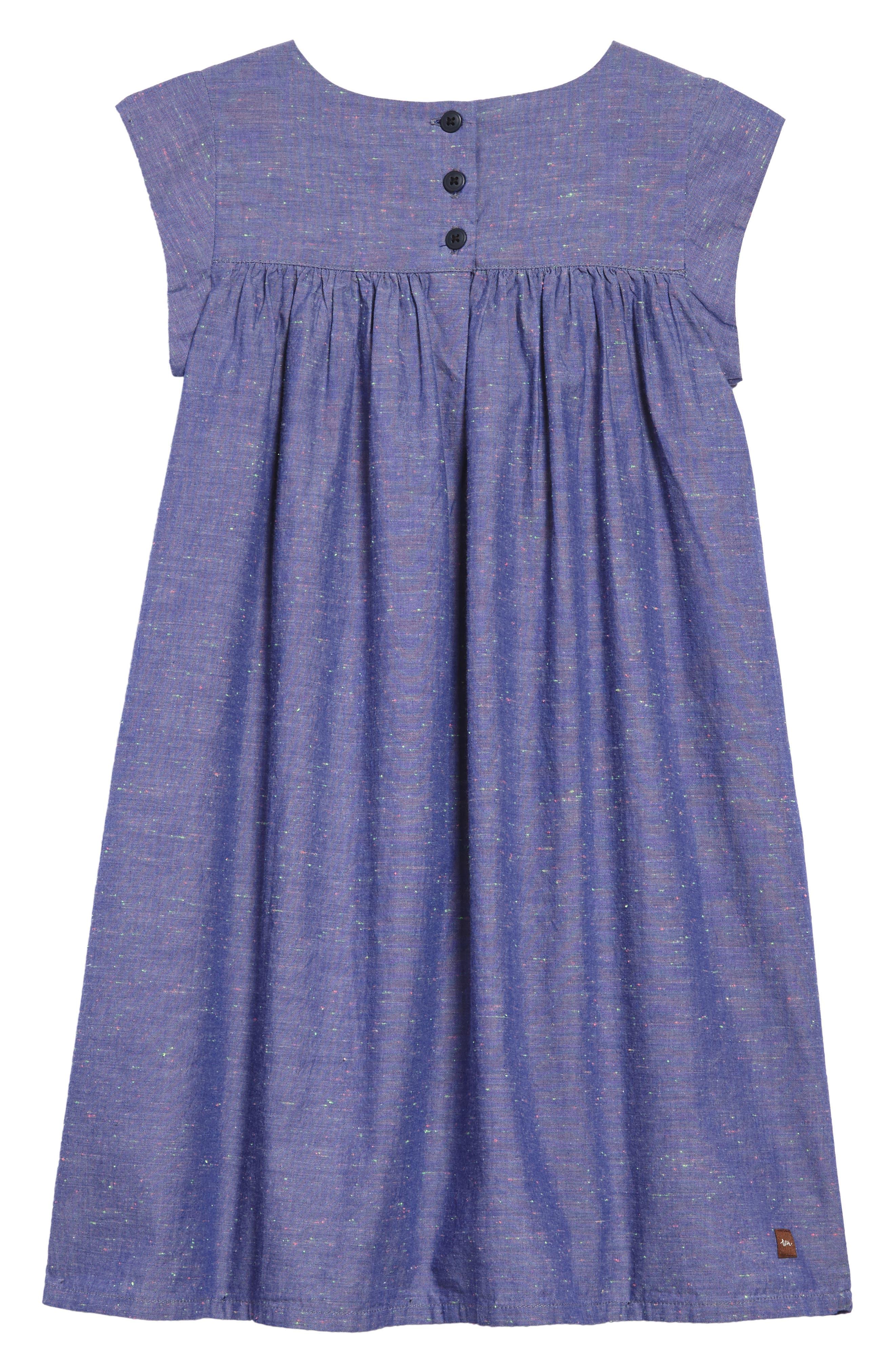 Nep Chambray Dress,                             Alternate thumbnail 2, color,