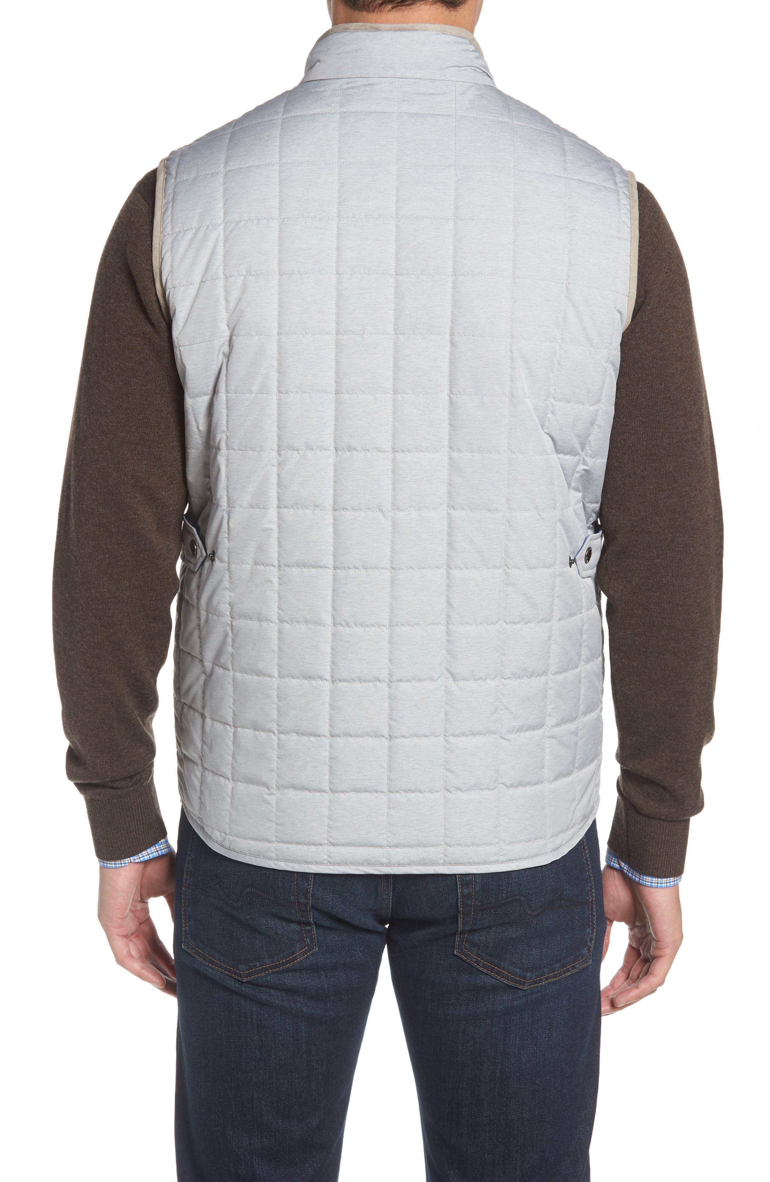 Seneca Quilted Vest,                             Alternate thumbnail 2, color,                             BRITISH GREY
