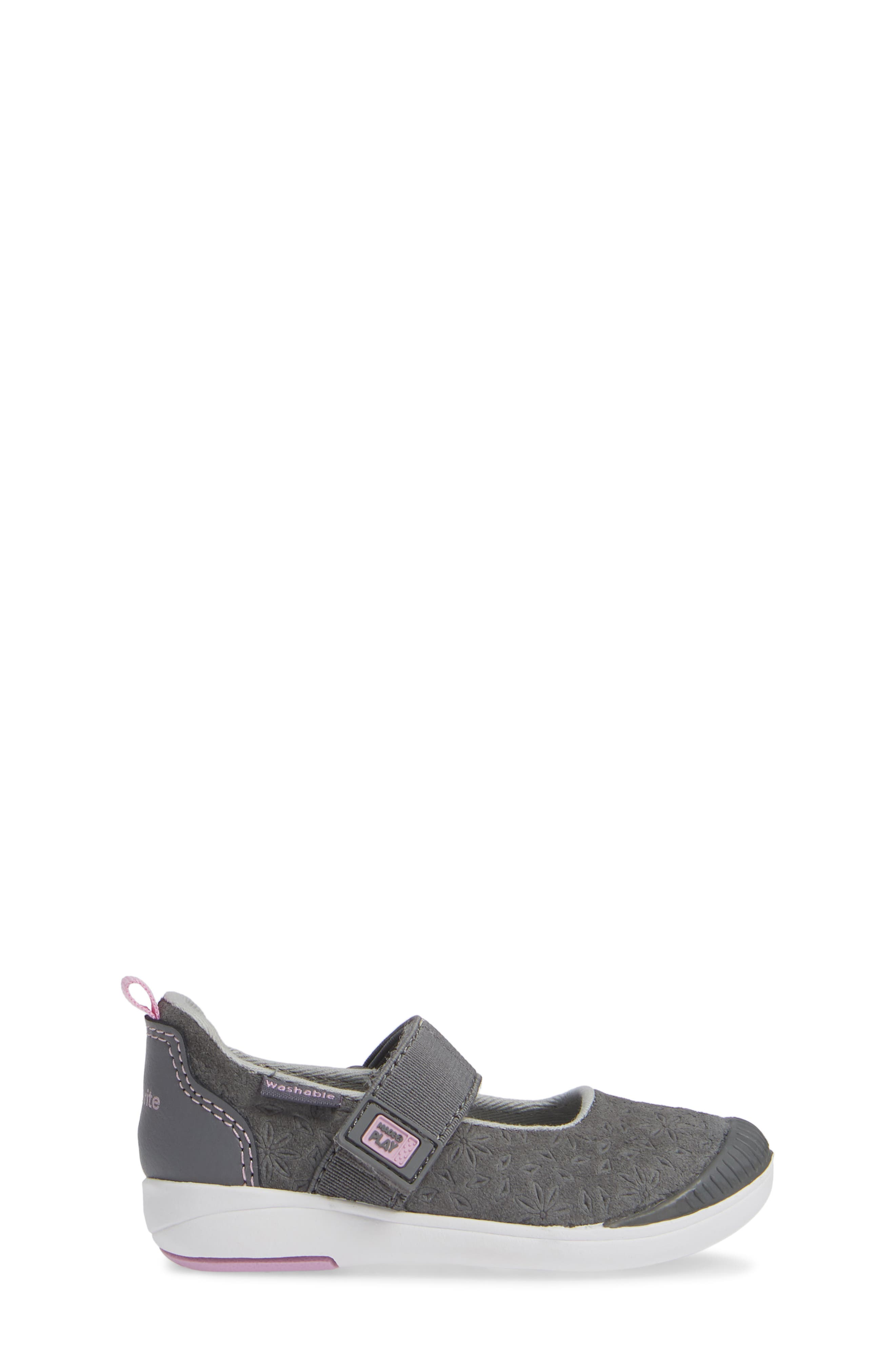 Made2Play<sup>®</sup> Lia Washable Mary Jane Sneaker,                             Alternate thumbnail 3, color,                             GREY