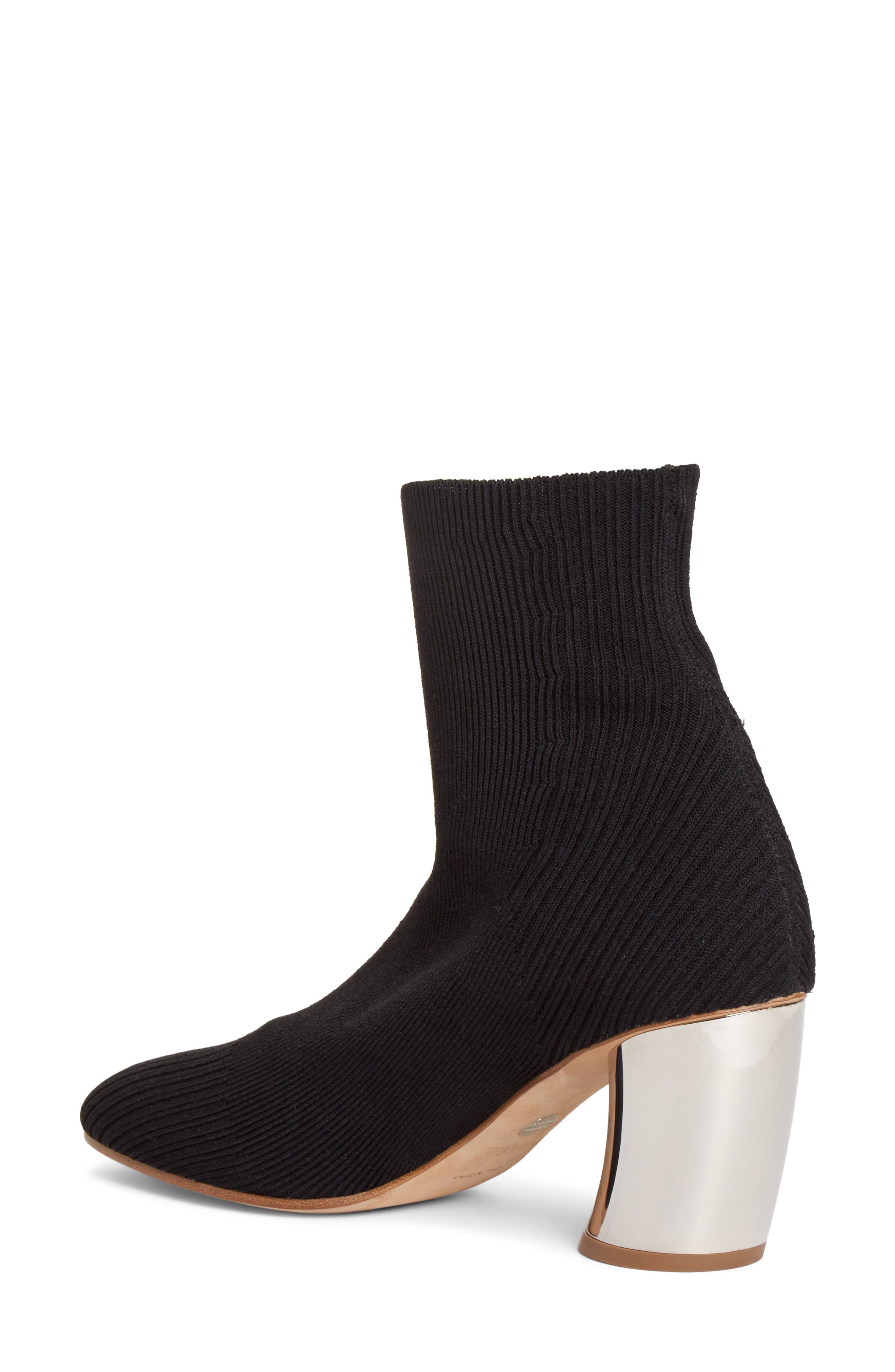 Sock Bootie,                             Alternate thumbnail 2, color,                             001