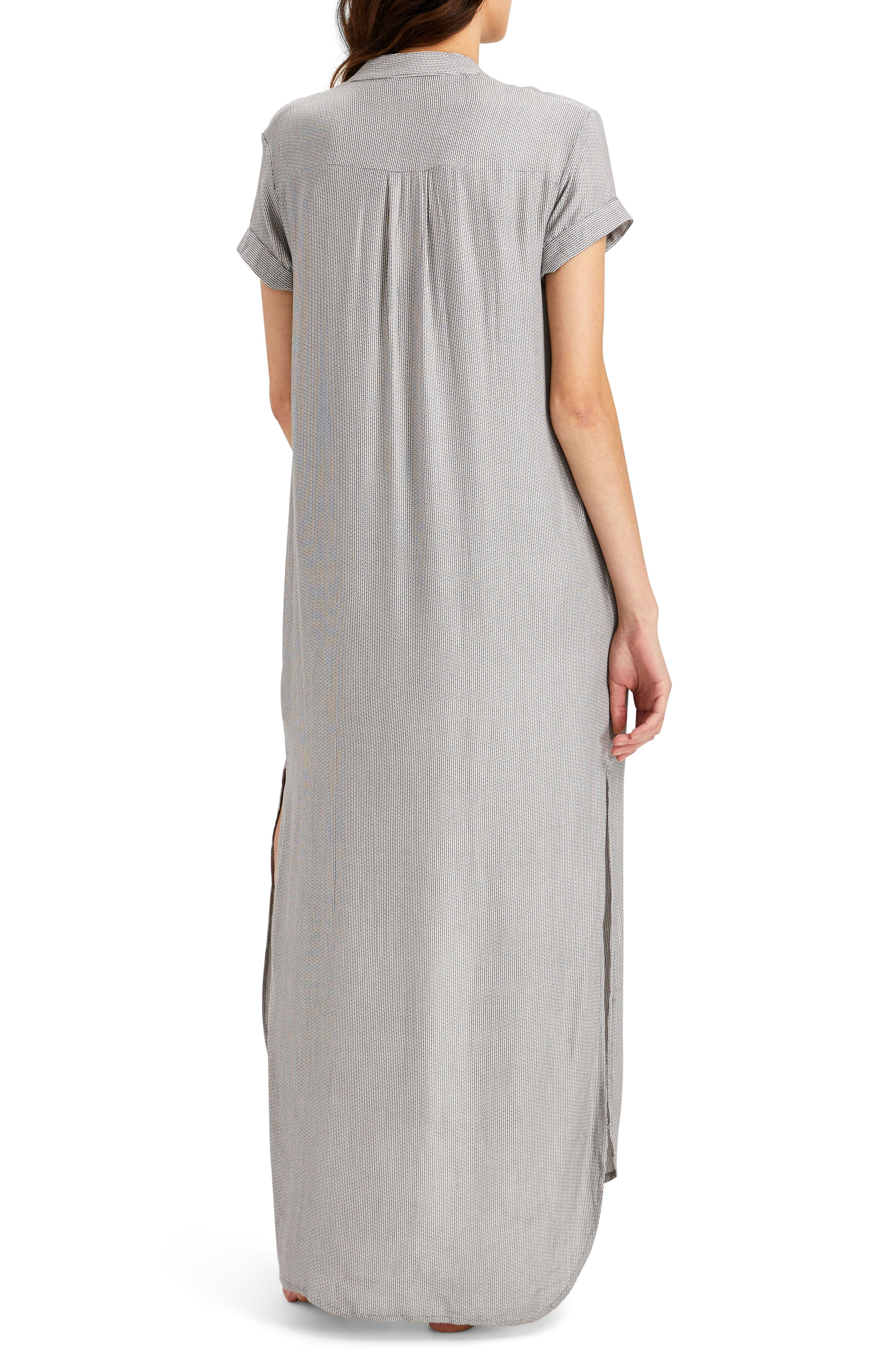 Kim Button Down Cover-Up Dress,                             Alternate thumbnail 2, color,                             022