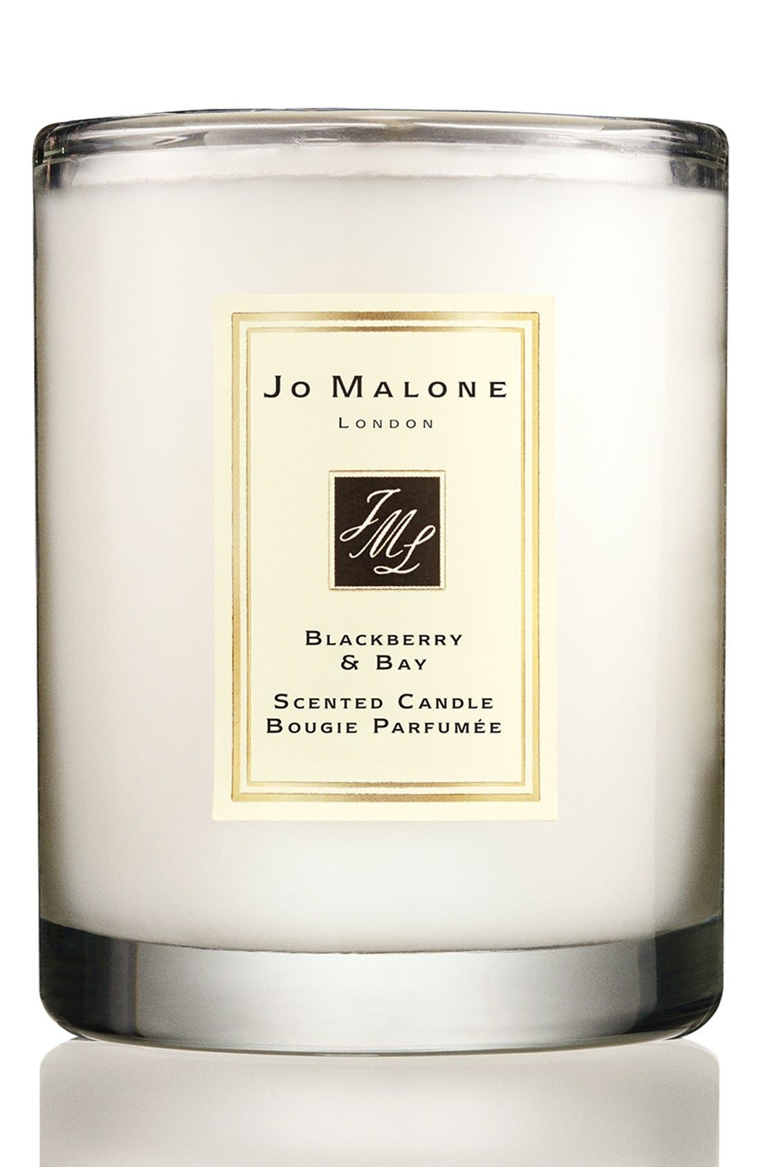 Jo Malone<sup>™</sup> Blackberry & Bay Travel Candle,                             Alternate thumbnail 2, color,