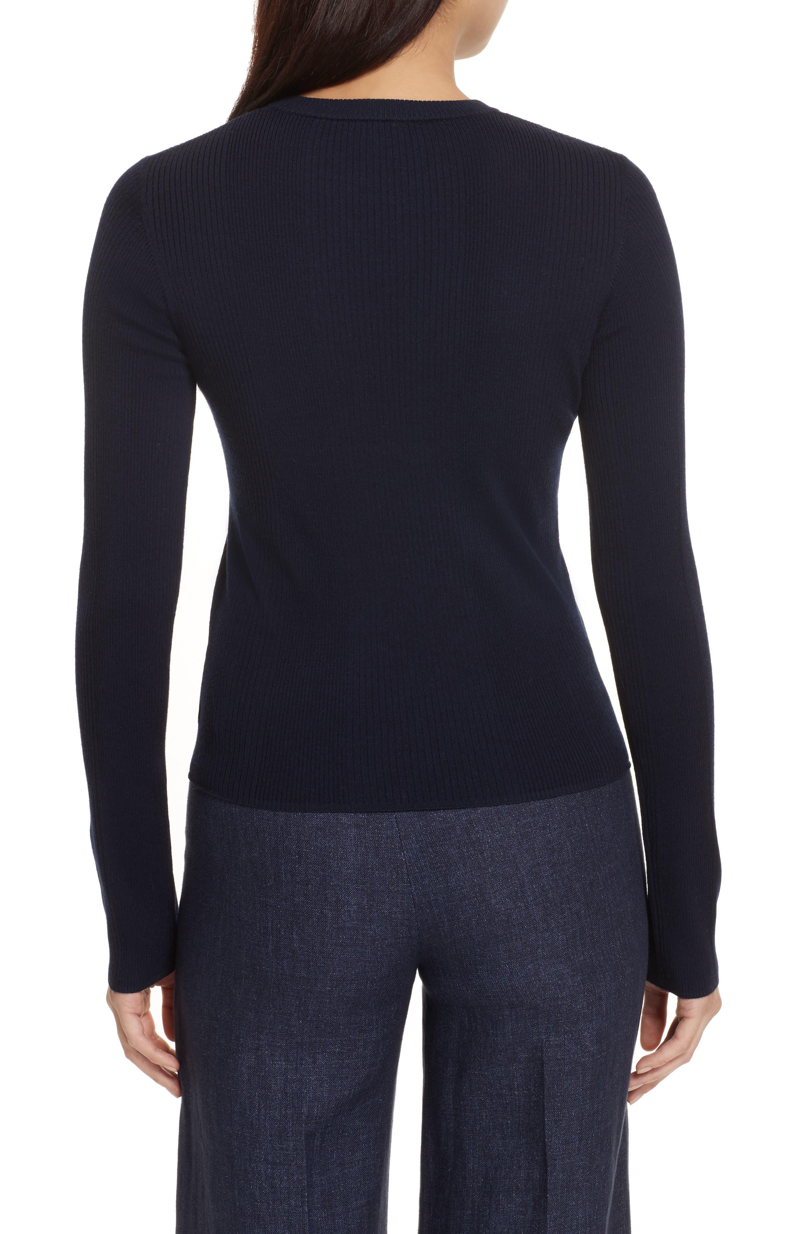 Merino Wool Blend Sweater,                             Alternate thumbnail 6, color,