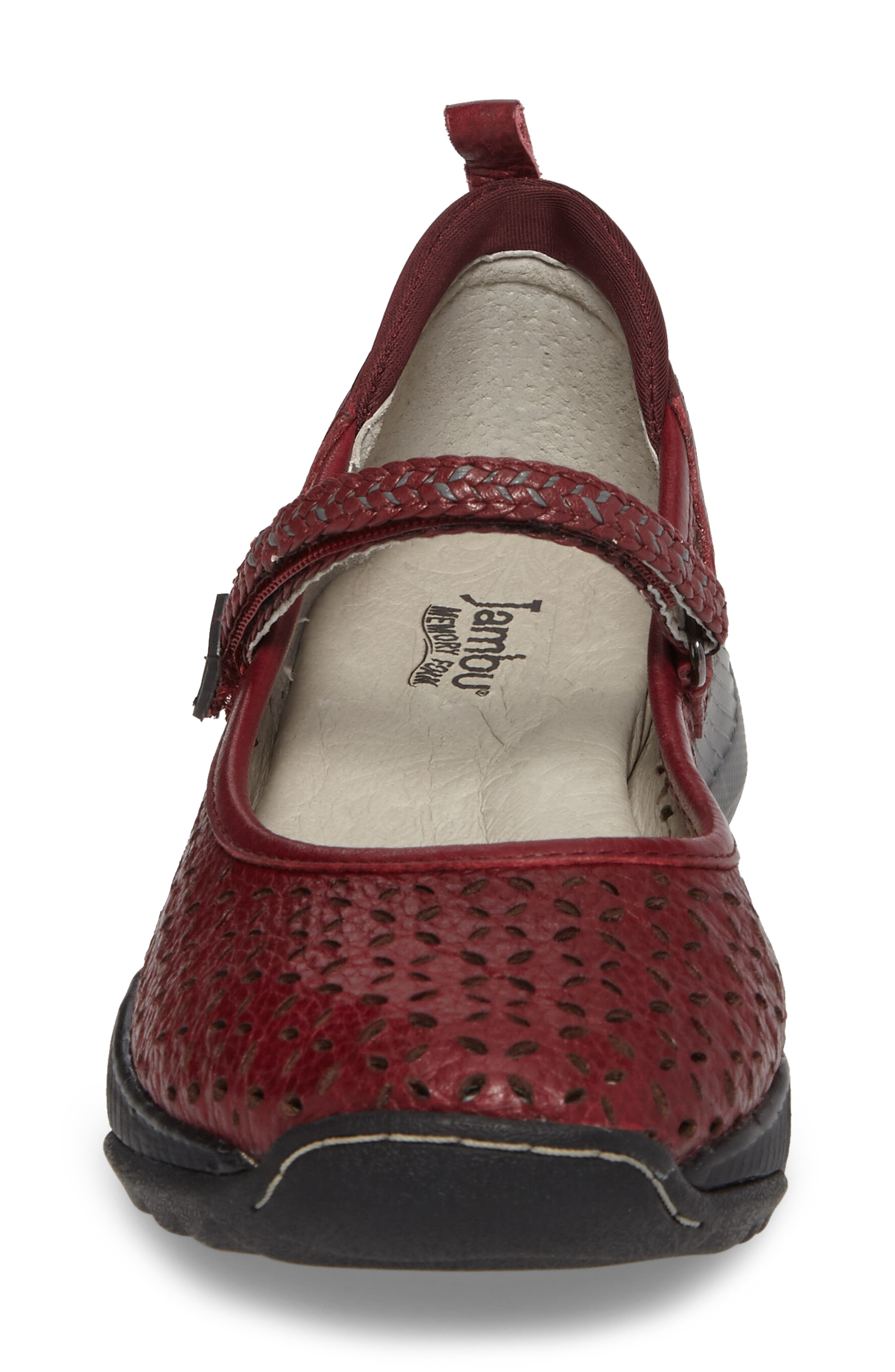 Bailey Perforated Mary Jane Sneaker,                             Alternate thumbnail 15, color,