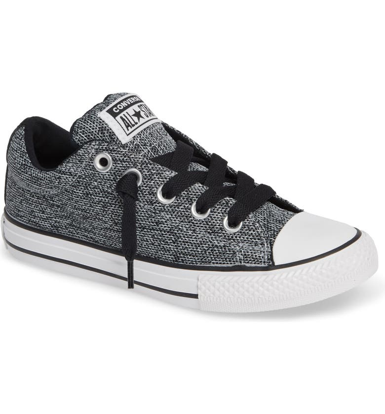 f43310849636 Converse All Star® Graphite Textured Street Low Top Sneaker (Toddler ...