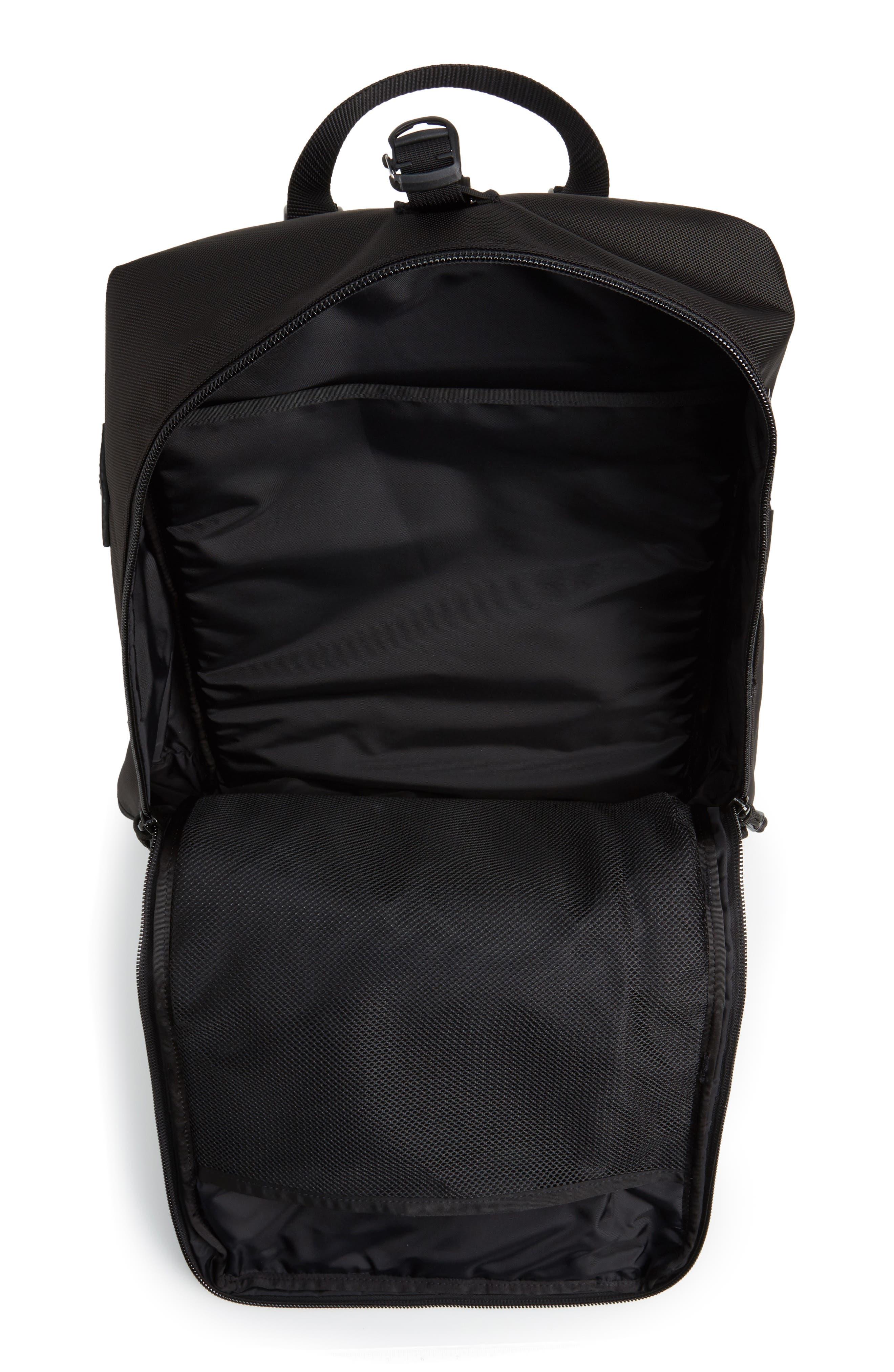 Travel Backpack,                             Alternate thumbnail 4, color,                             BALLISTIC BLACK