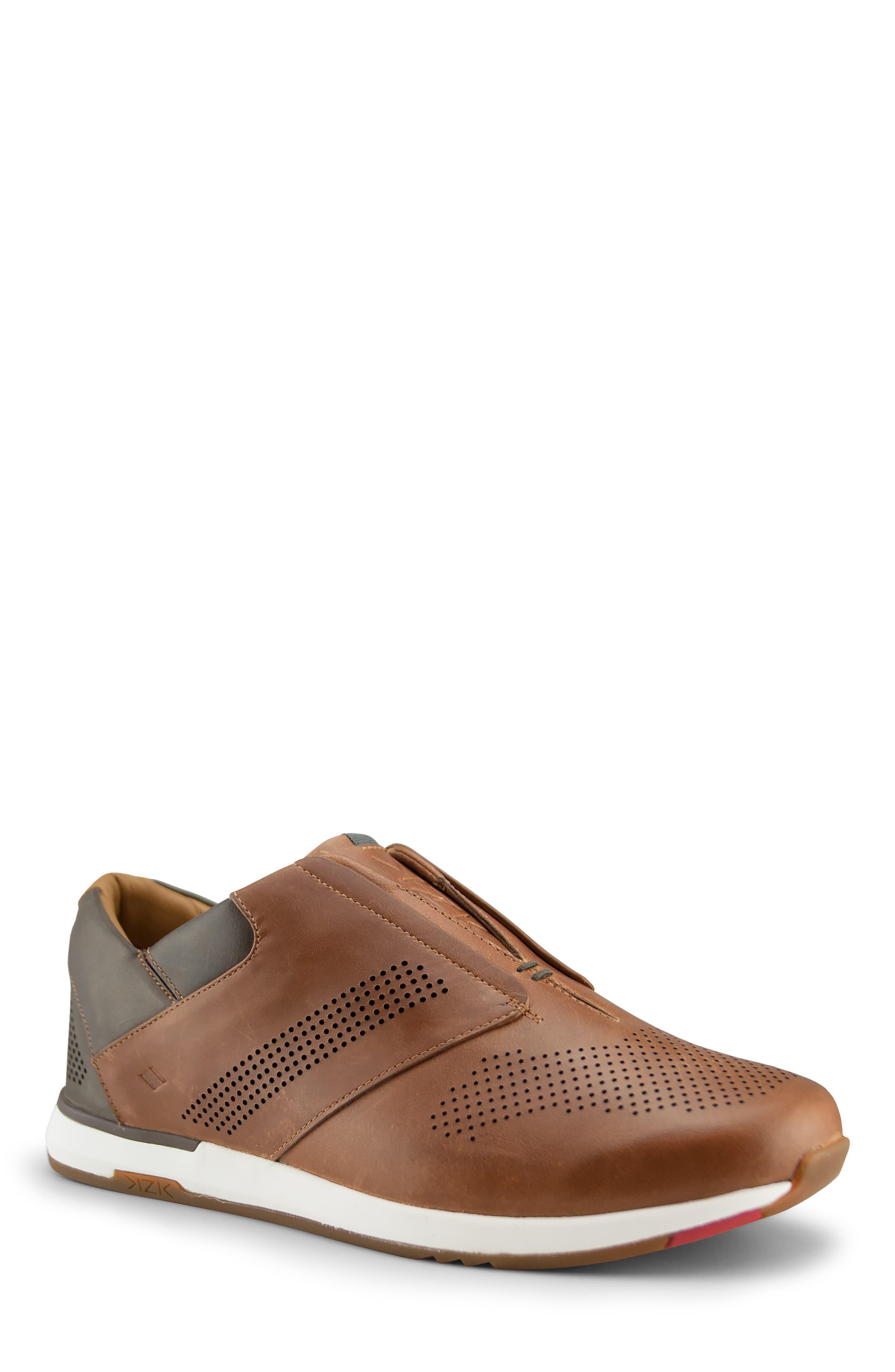 Kizik Dubai Slip-On Sneaker- Brown
