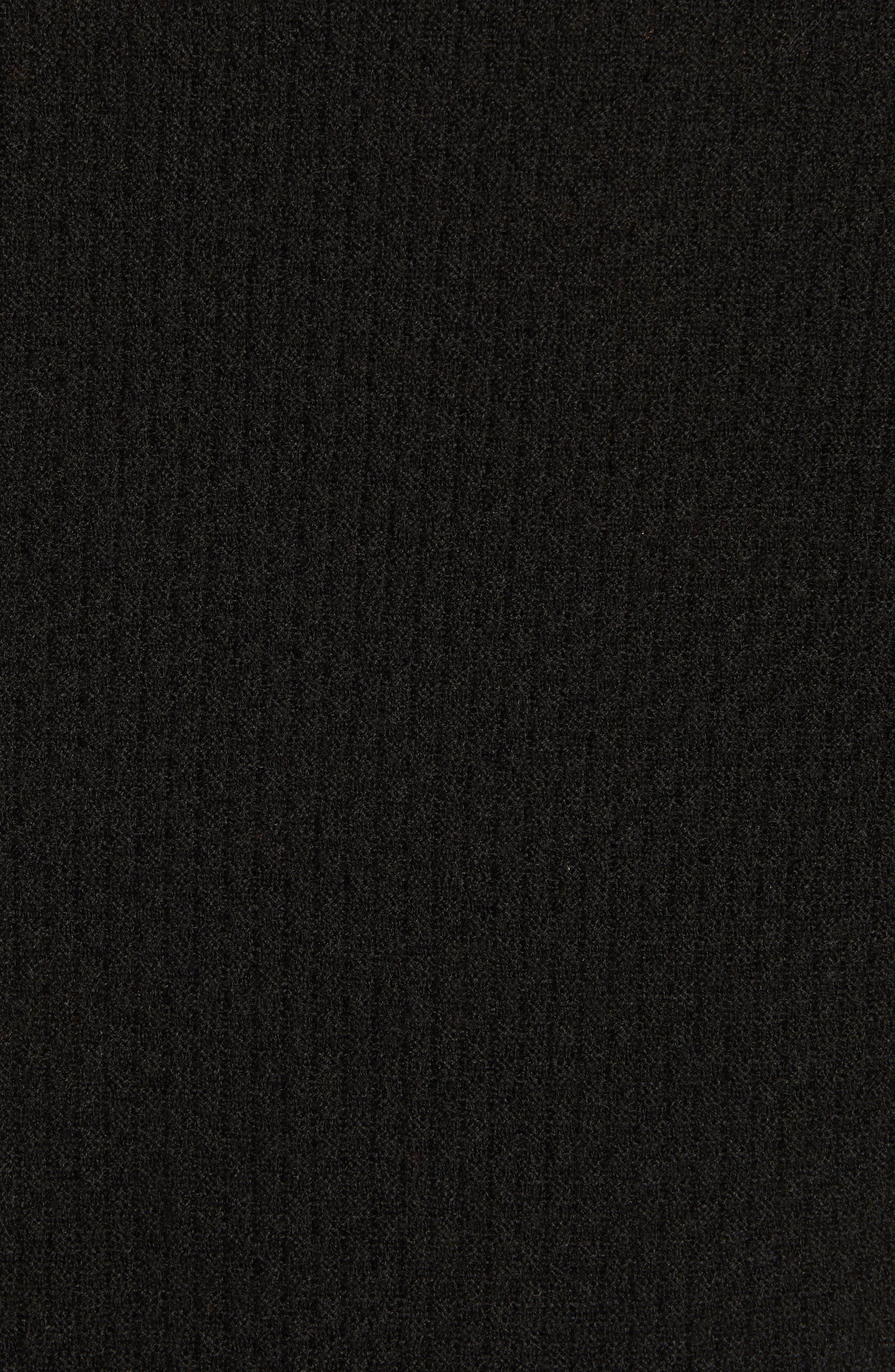 Capilene<sup>®</sup> Lightweight Air Crew Sweater,                             Alternate thumbnail 5, color,                             BLACK