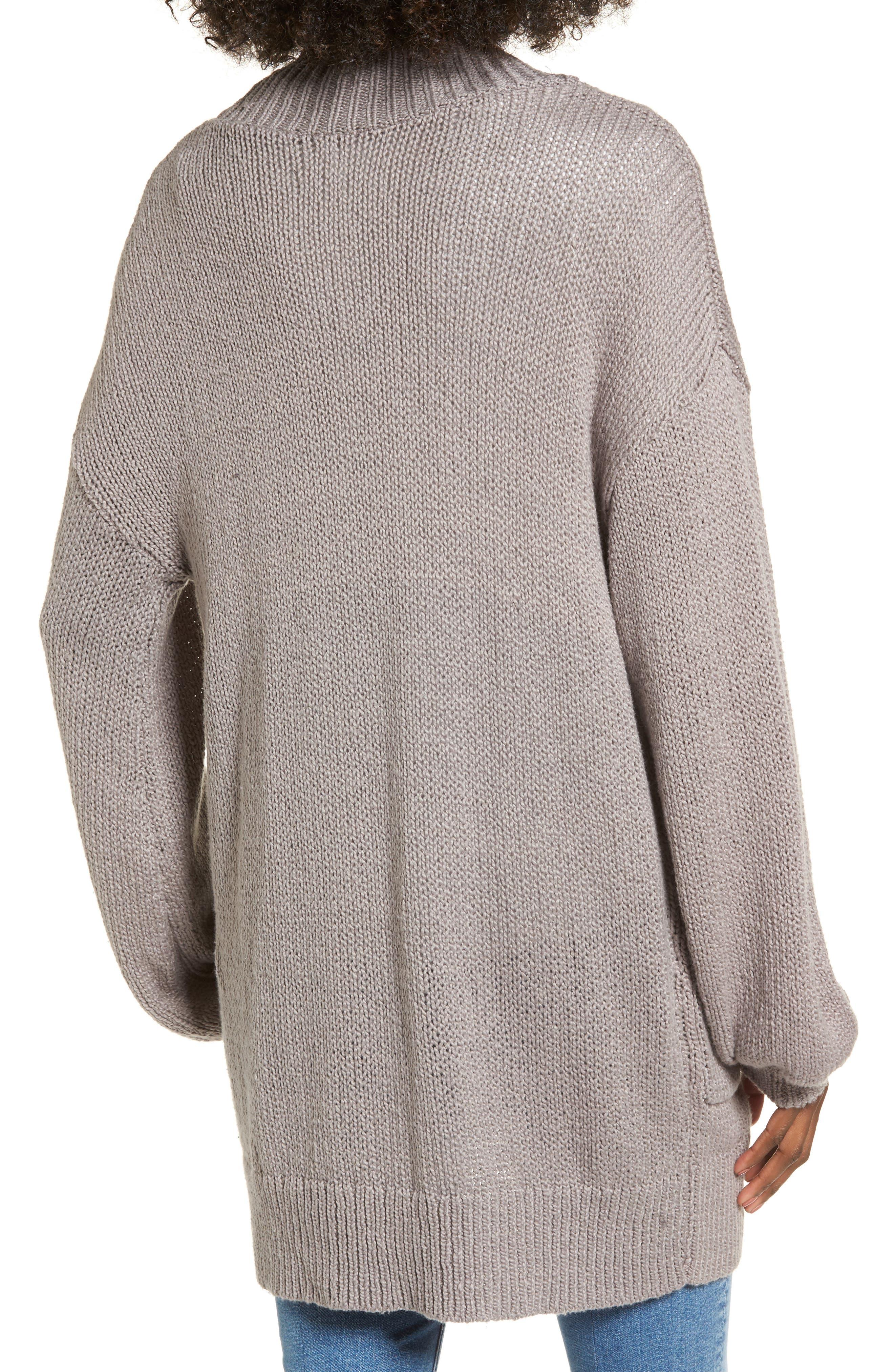 Blouson Sleeve Knit Cardigan,                             Alternate thumbnail 2, color,                             030