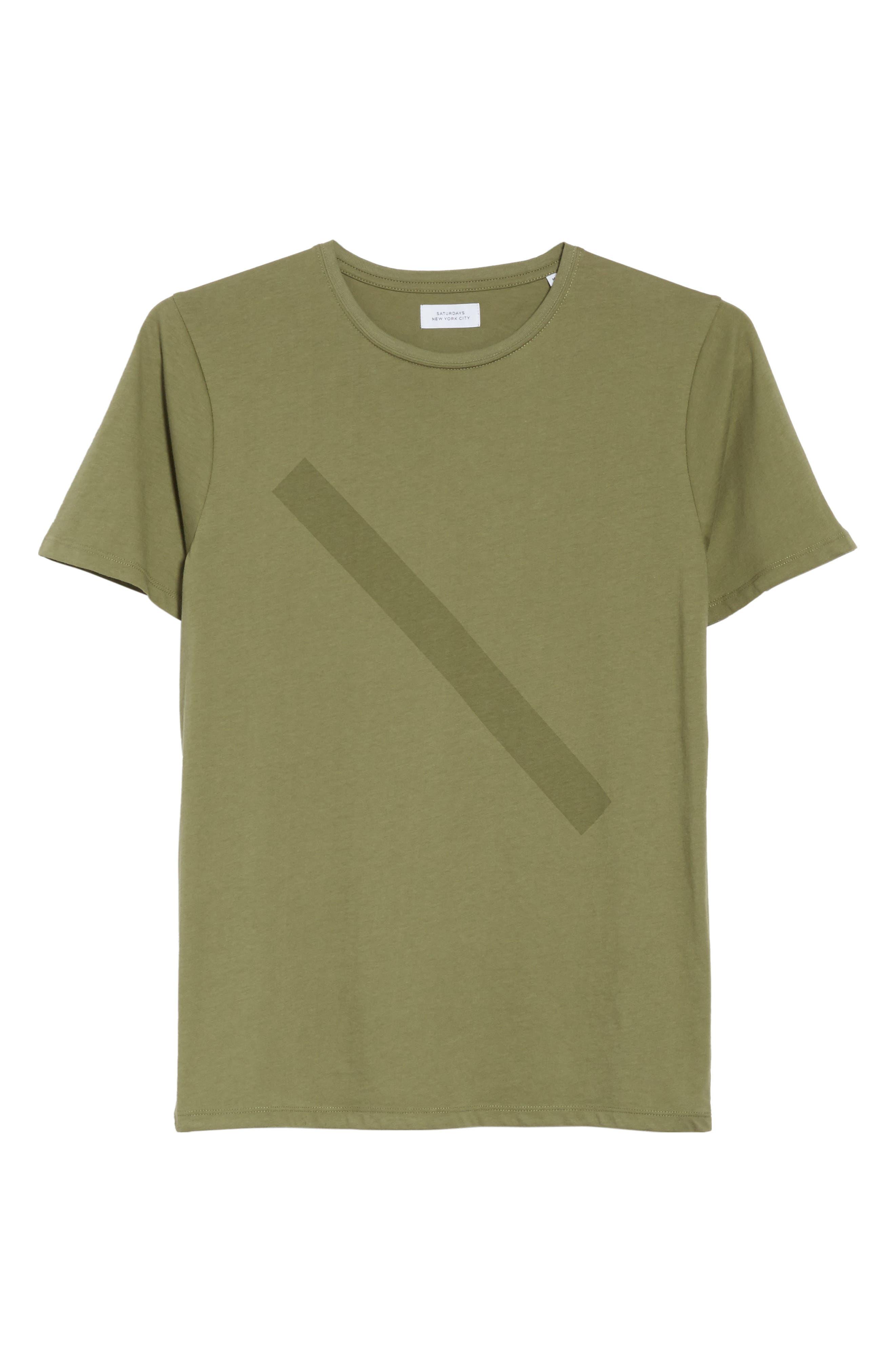 Tonal Slash Graphic T-Shirt,                             Alternate thumbnail 6, color,                             305