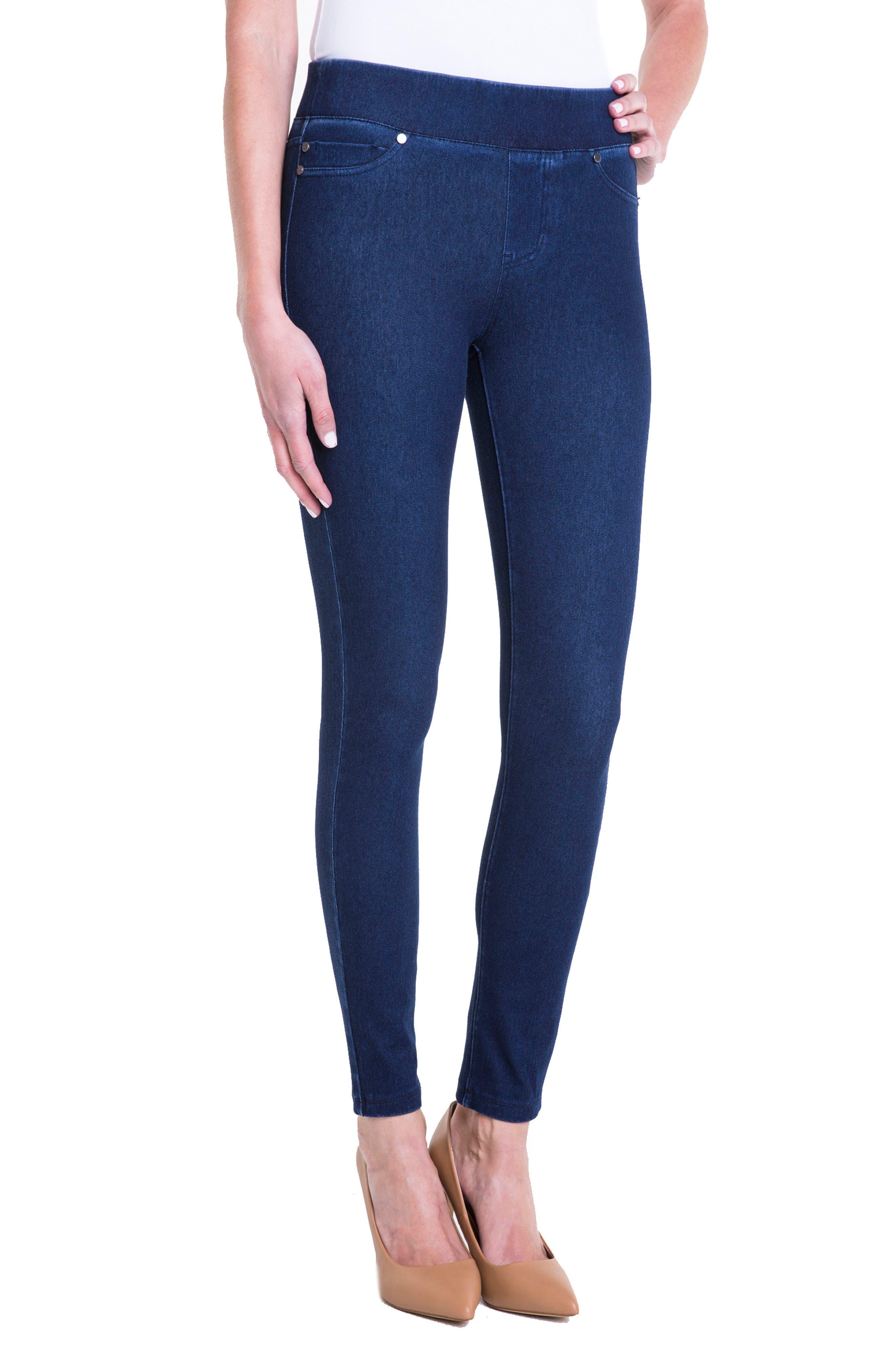 Sienna Pull-On Ankle Legging Jeans,                             Alternate thumbnail 3, color,                             403