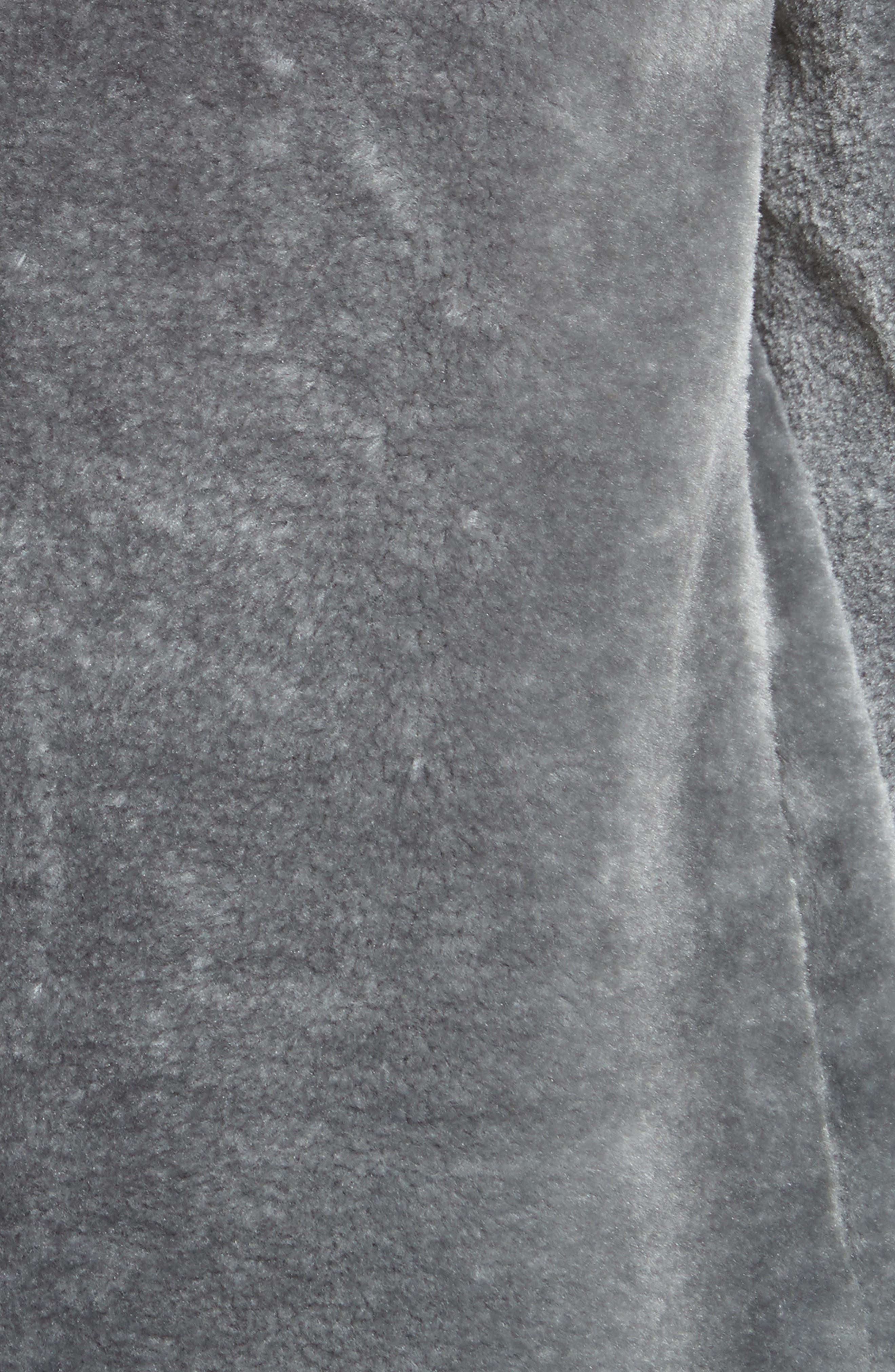 Faux Fur Jacket,                             Alternate thumbnail 6, color,                             063