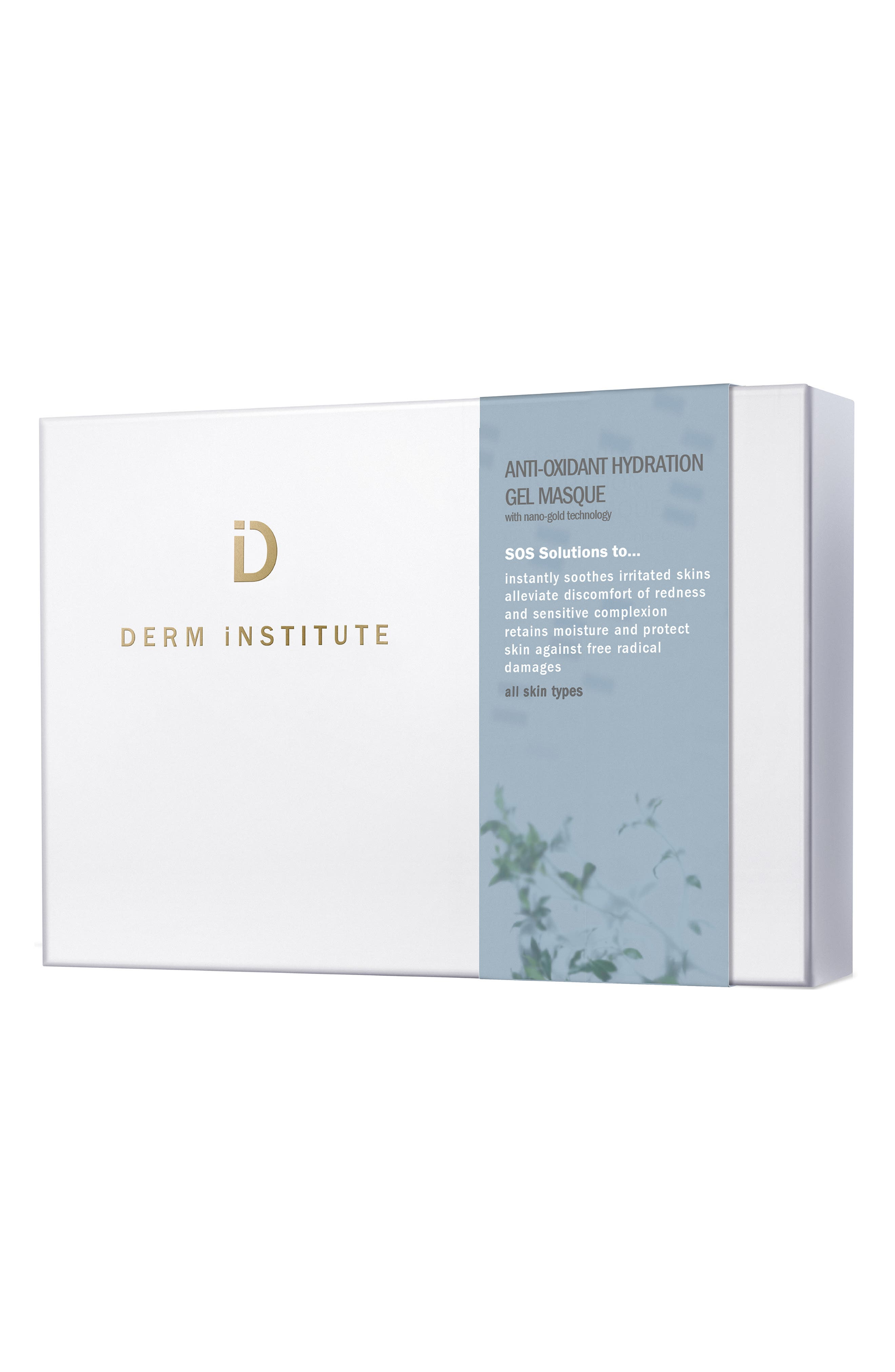 SPACE.NK.apothecary Derm Institute Anti-Oxidant Hydration Gel Masque,                             Main thumbnail 1, color,                             NO COLOR