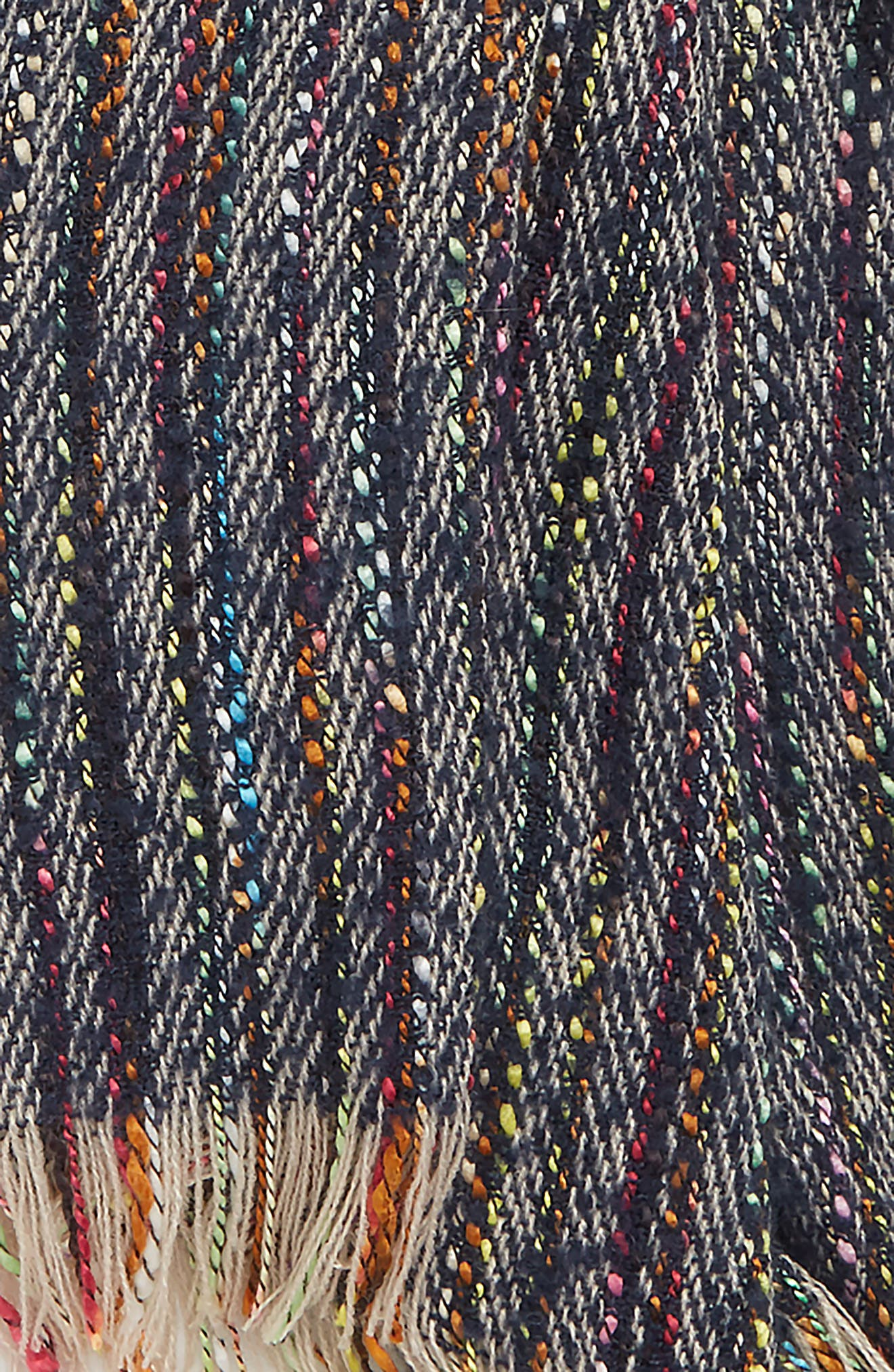 Speckled Knit Scarf,                             Alternate thumbnail 3, color,                             MULTI