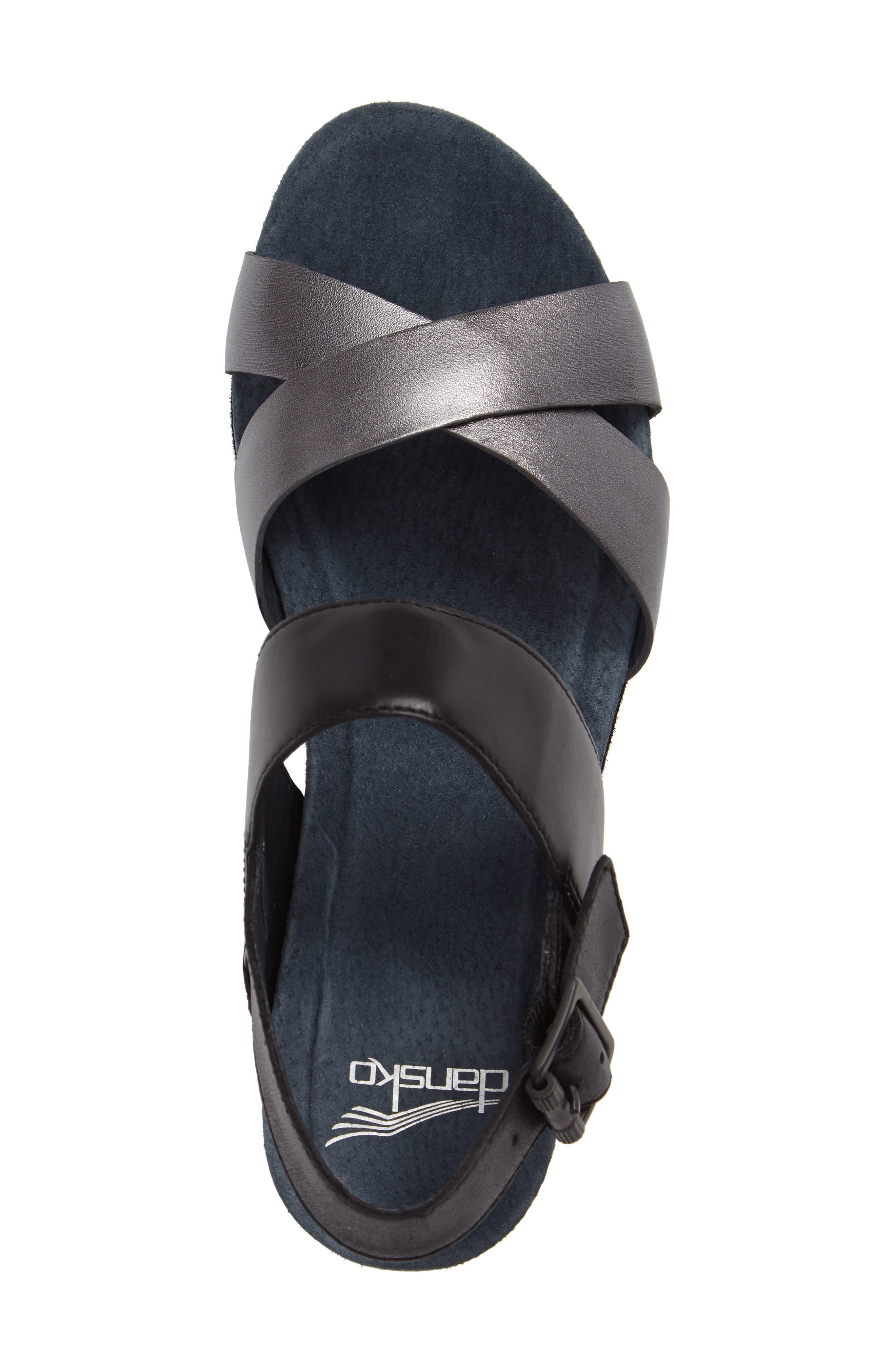 Stasia Platform Wedge Sandal,                             Alternate thumbnail 3, color,                             001