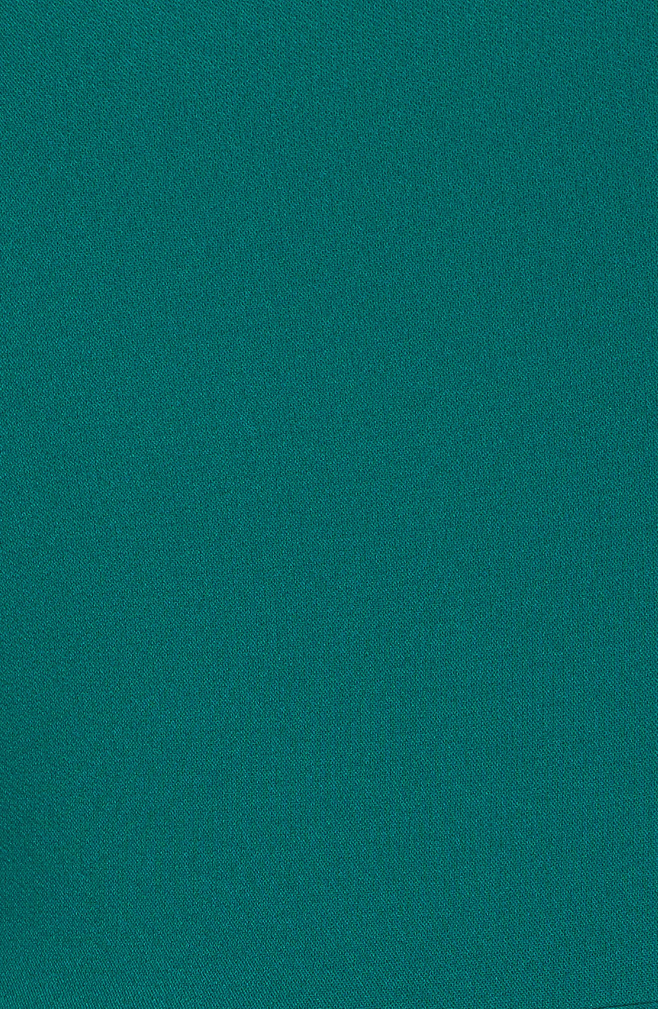 Envelope Neck with Button Sheath Dress,                             Alternate thumbnail 5, color,                             307