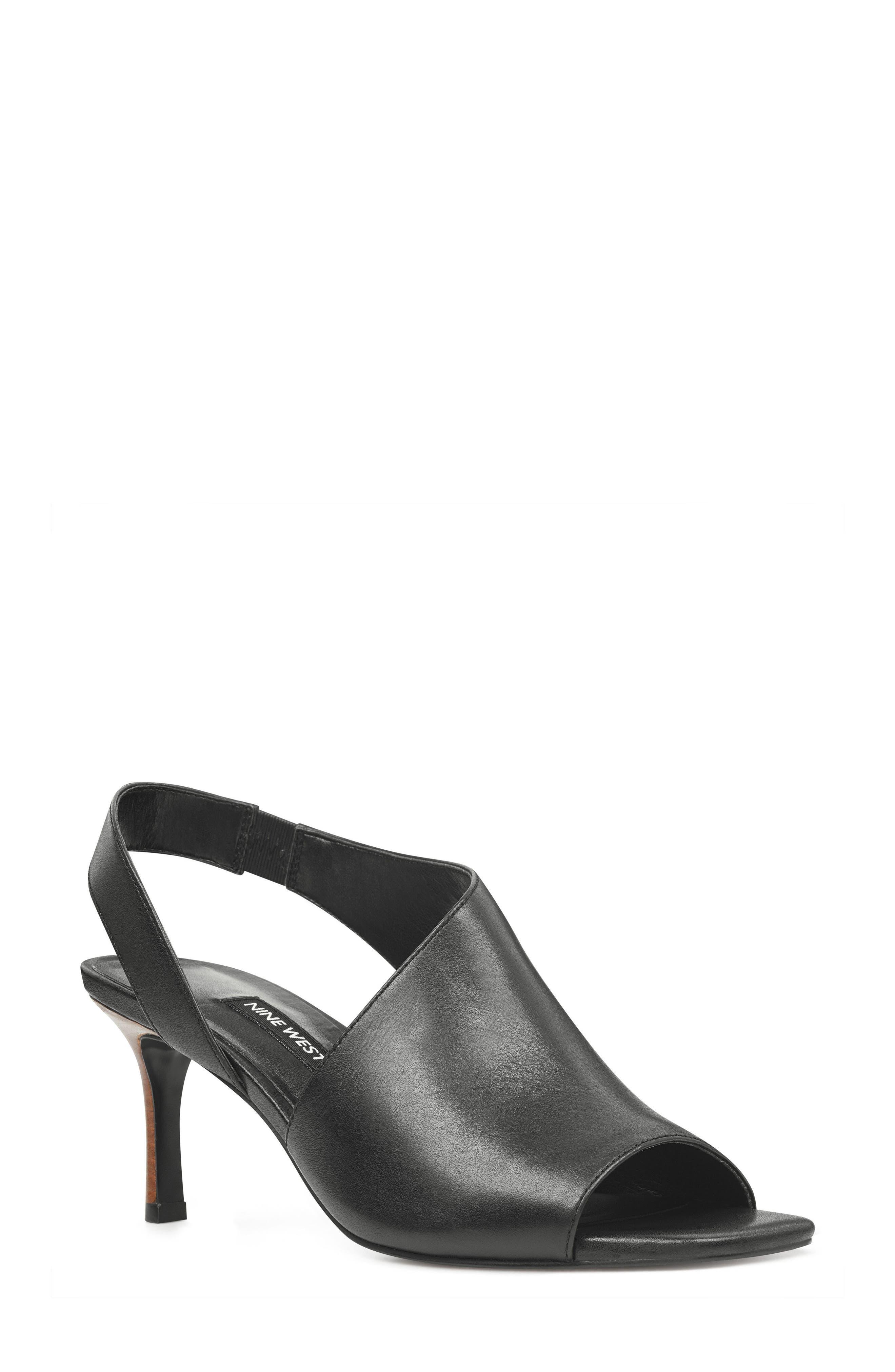 Orrus Asymmetrical Sandal,                             Main thumbnail 1, color,                             001