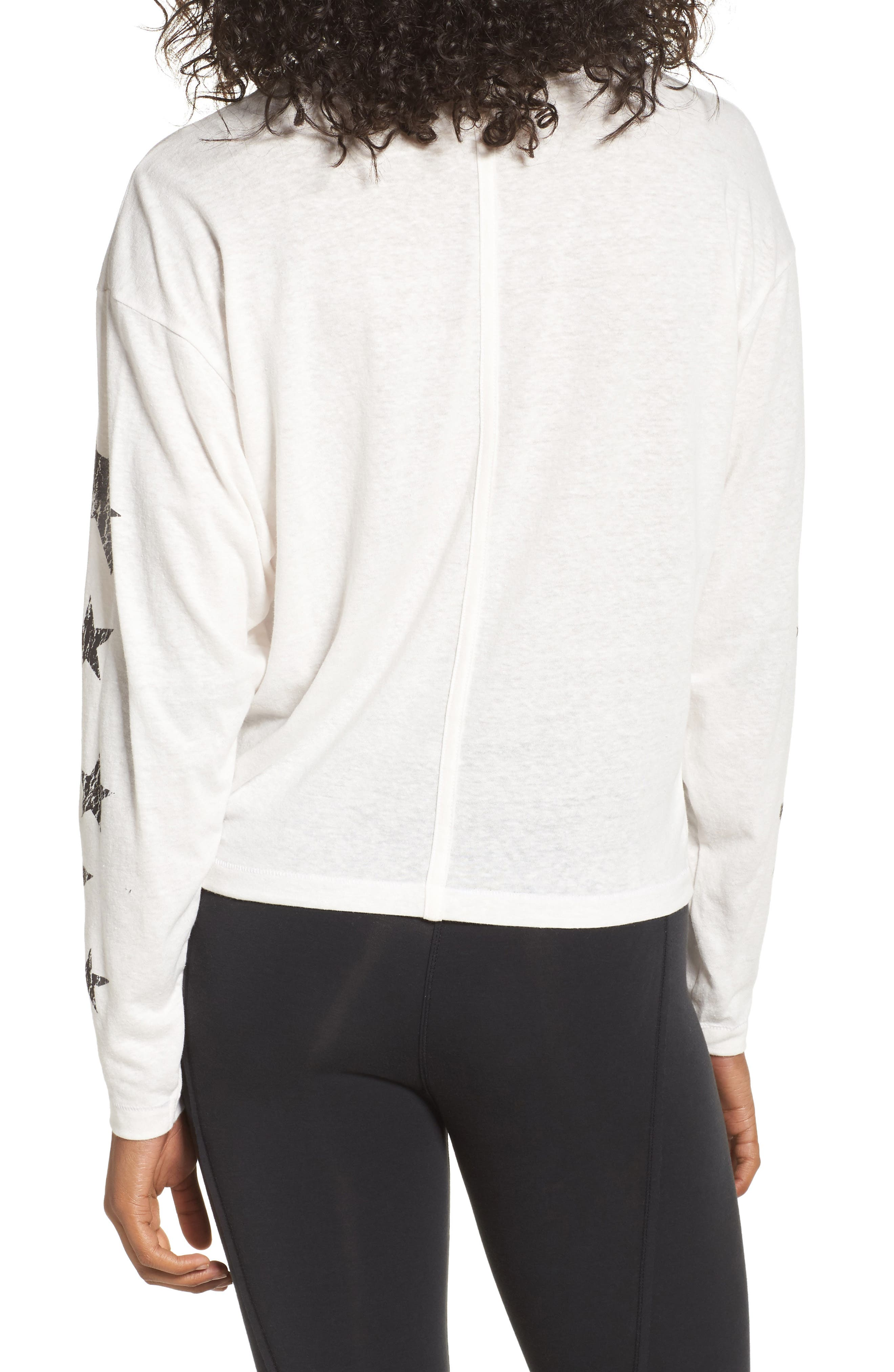 Free People Melrose Star Graphic Top,                             Alternate thumbnail 6, color,