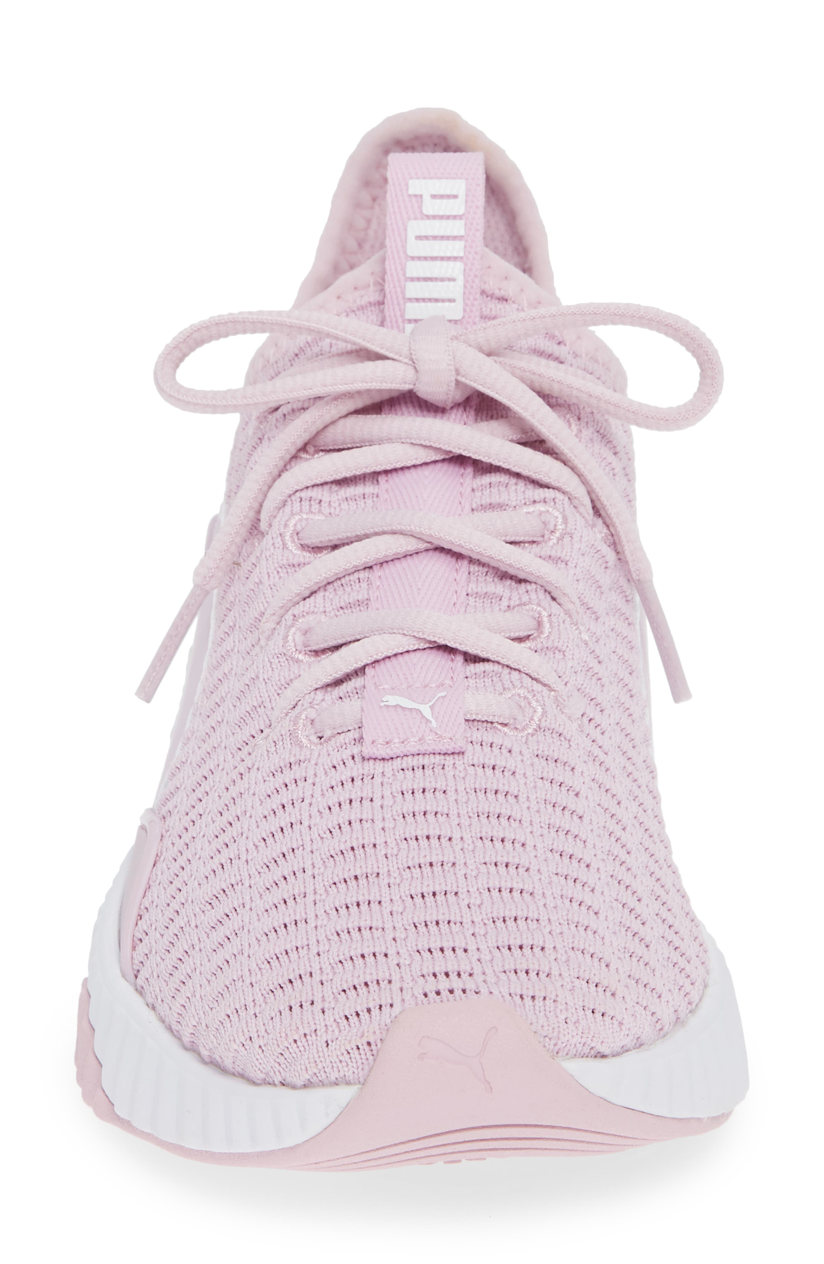 Defy Sneaker,                             Alternate thumbnail 4, color,                             WINSOME ORCHID/ PUMA WHITE