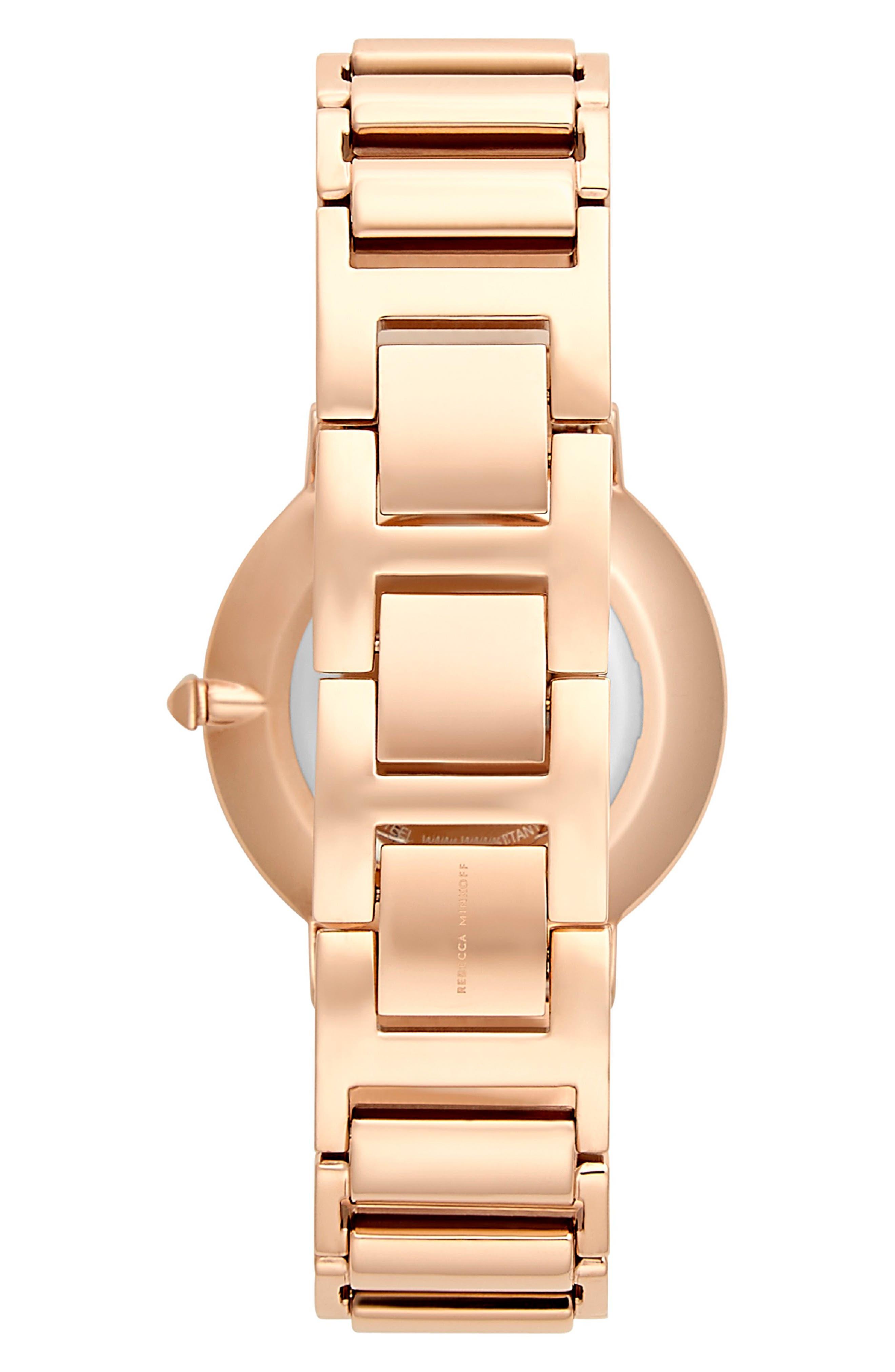Major Bracelet Watch, 35mm,                             Alternate thumbnail 2, color,                             ROSE GOLD/ GREY / ROSE GOLD