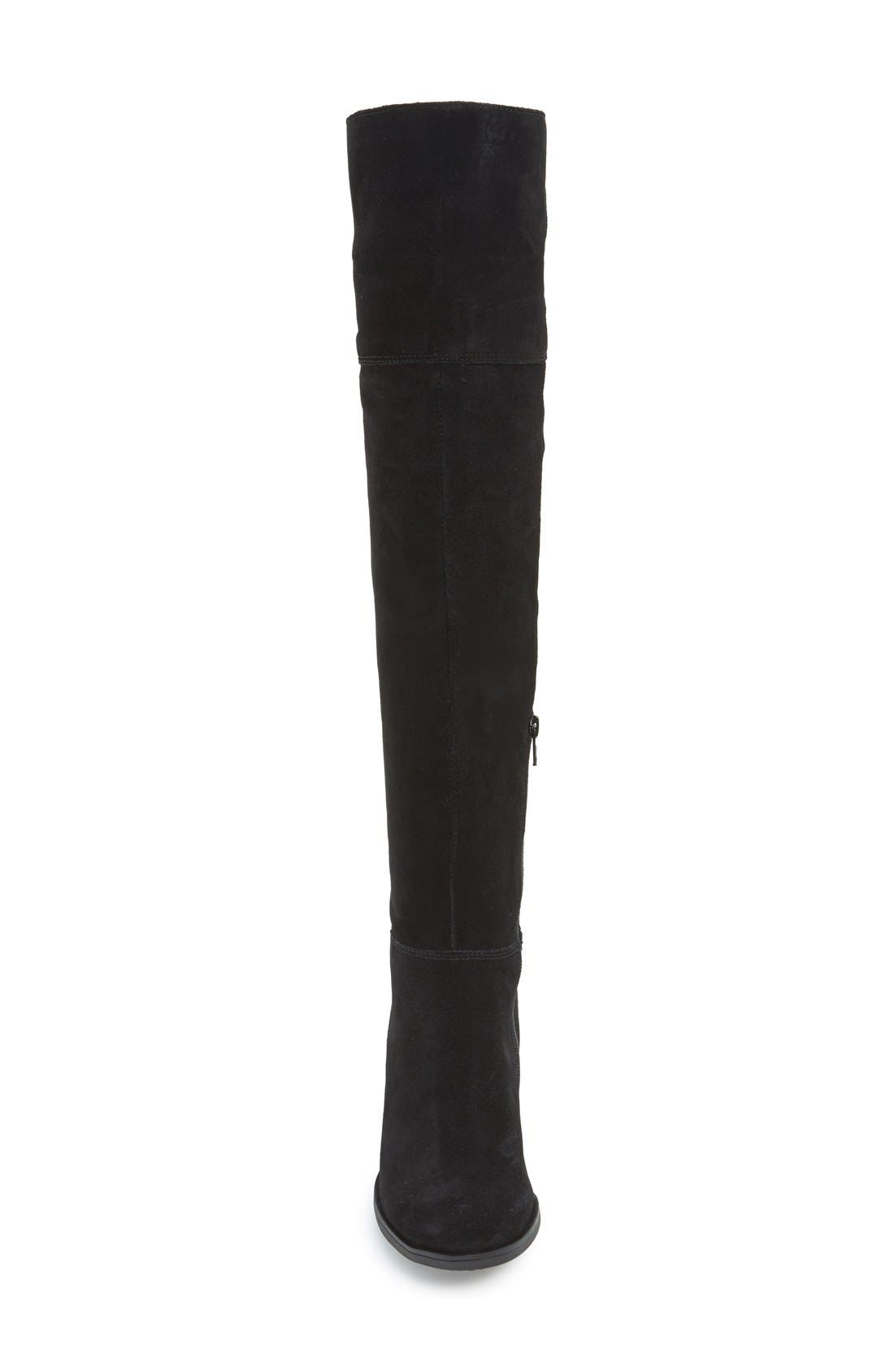 'Orabela' Knee High Boot,                             Alternate thumbnail 3, color,                             006