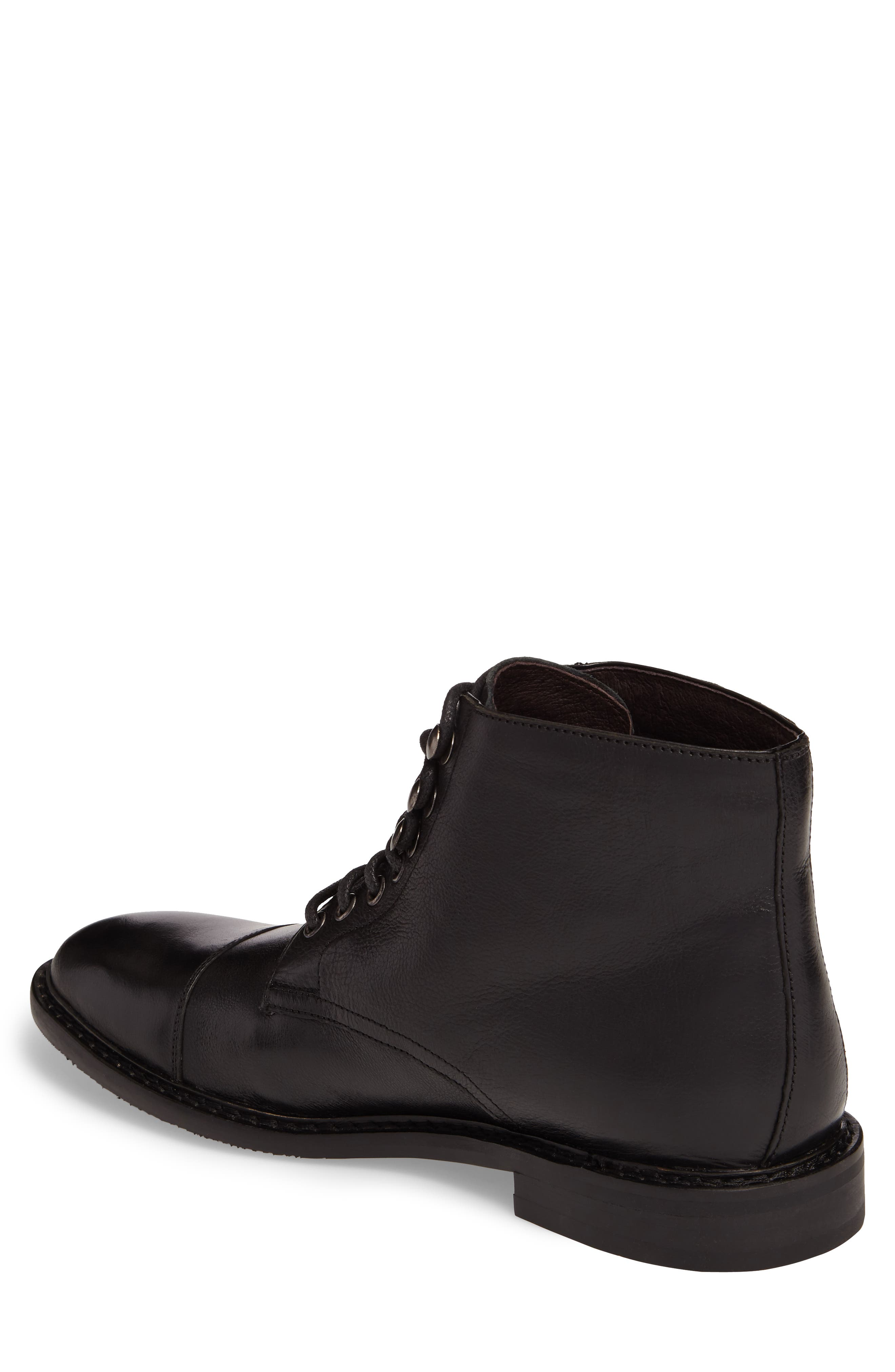 Piston Cap Toe Boot,                             Alternate thumbnail 2, color,                             001