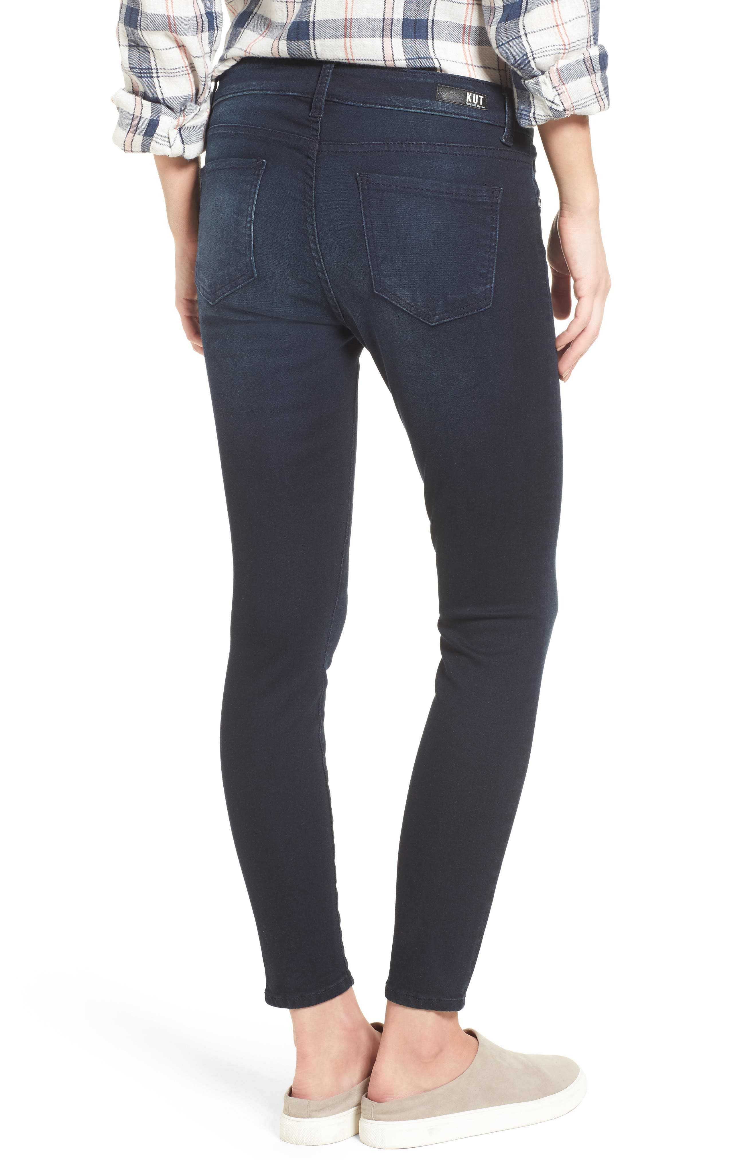 Connie Skinny Ankle Jeans,                             Alternate thumbnail 2, color,