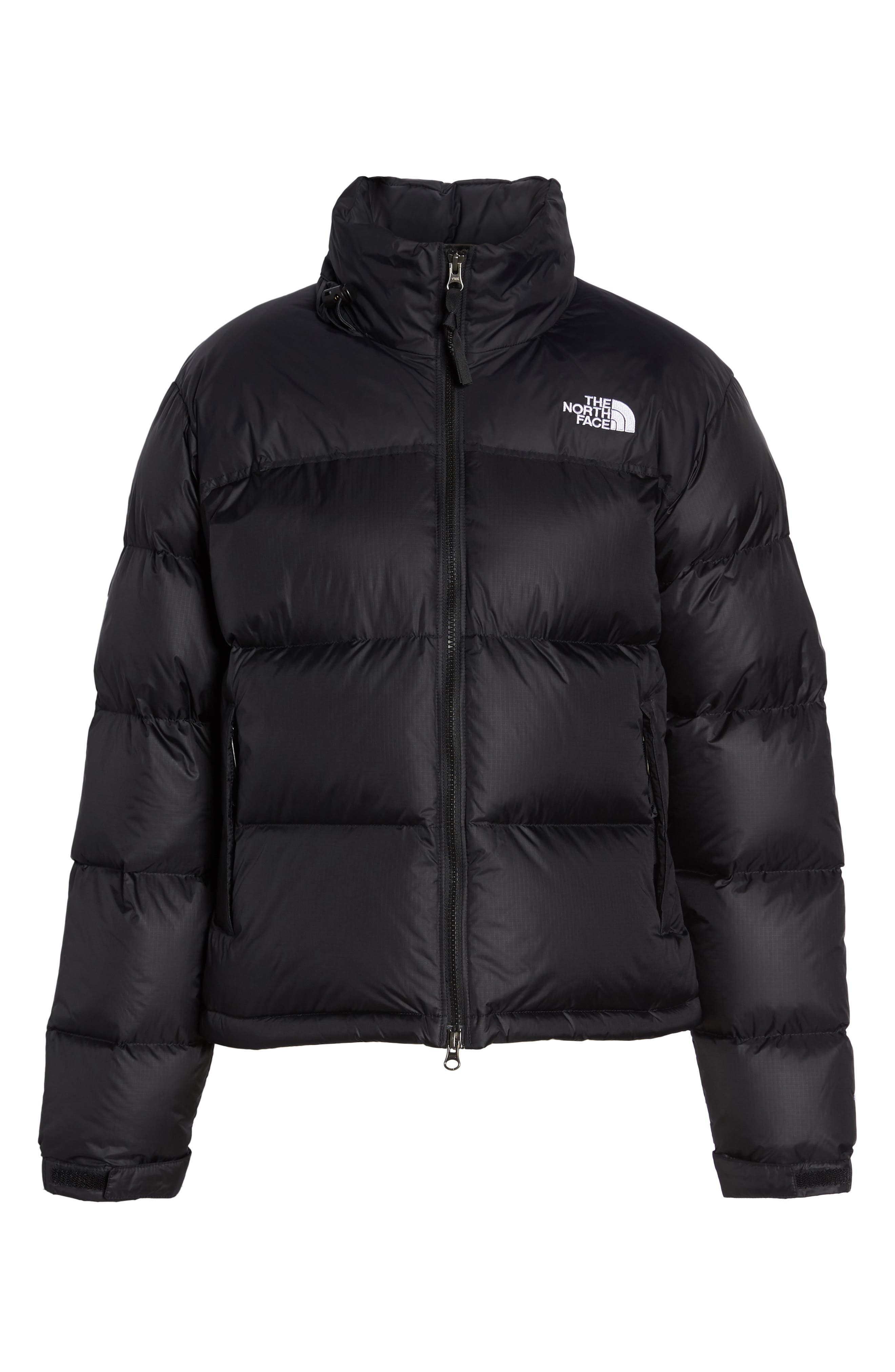 Nuptse 1996 Packable Quilted Down Jacket,                             Alternate thumbnail 6, color,                             TNF BLACK