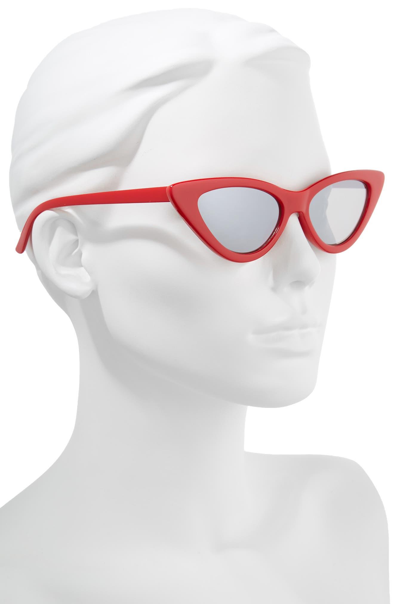 62mm Cat Eye Sunglasses,                             Alternate thumbnail 5, color,