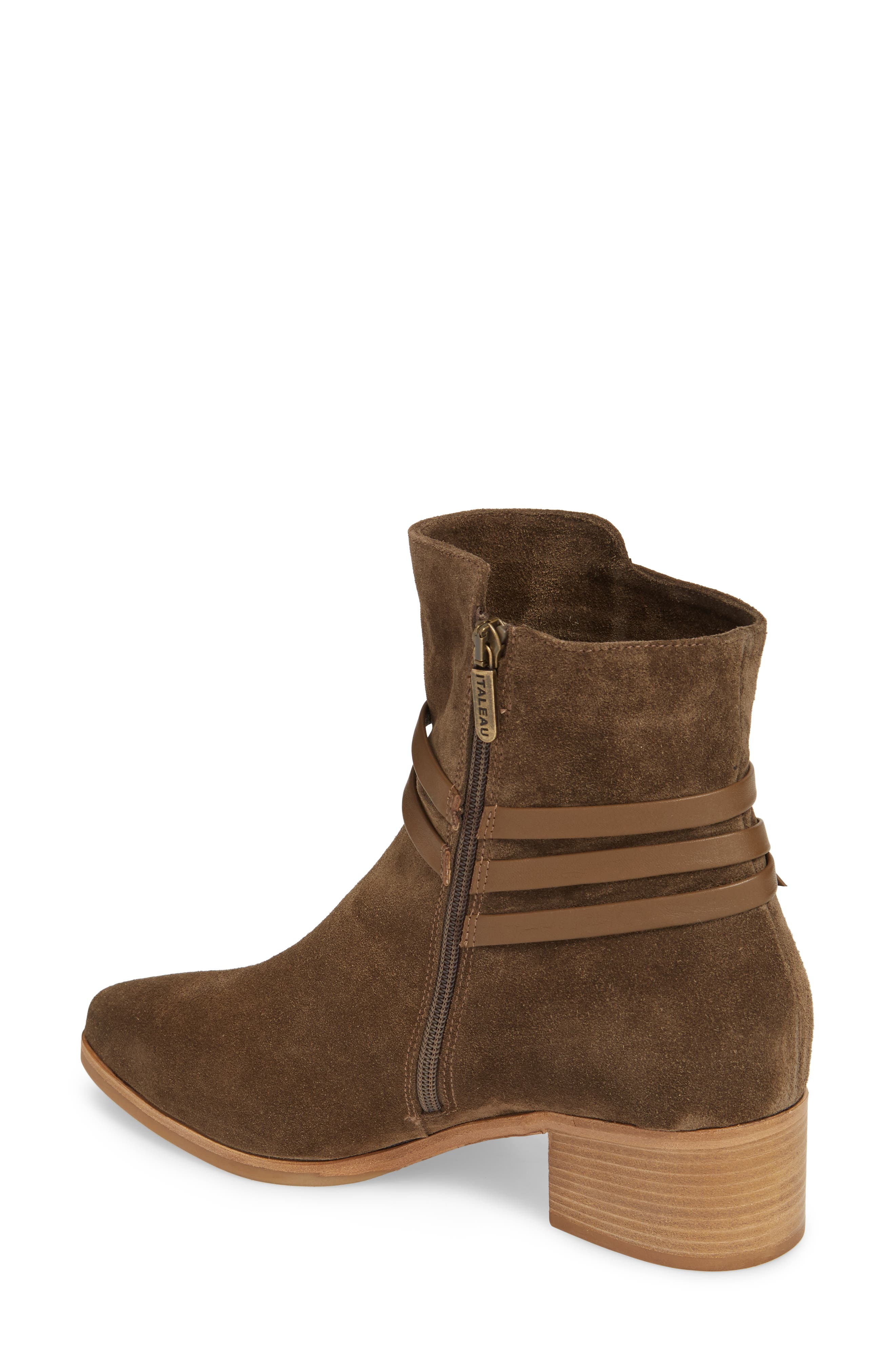 Donata Water-Resistant Bootie,                             Alternate thumbnail 2, color,                             340