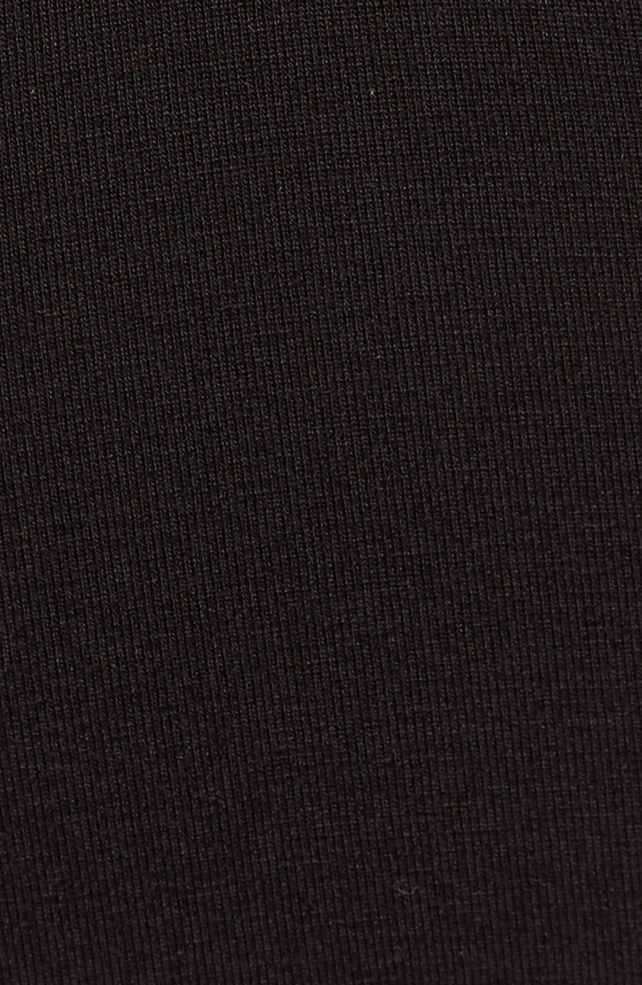 Shadow Logo Sports Bra,                             Alternate thumbnail 7, color,                             001