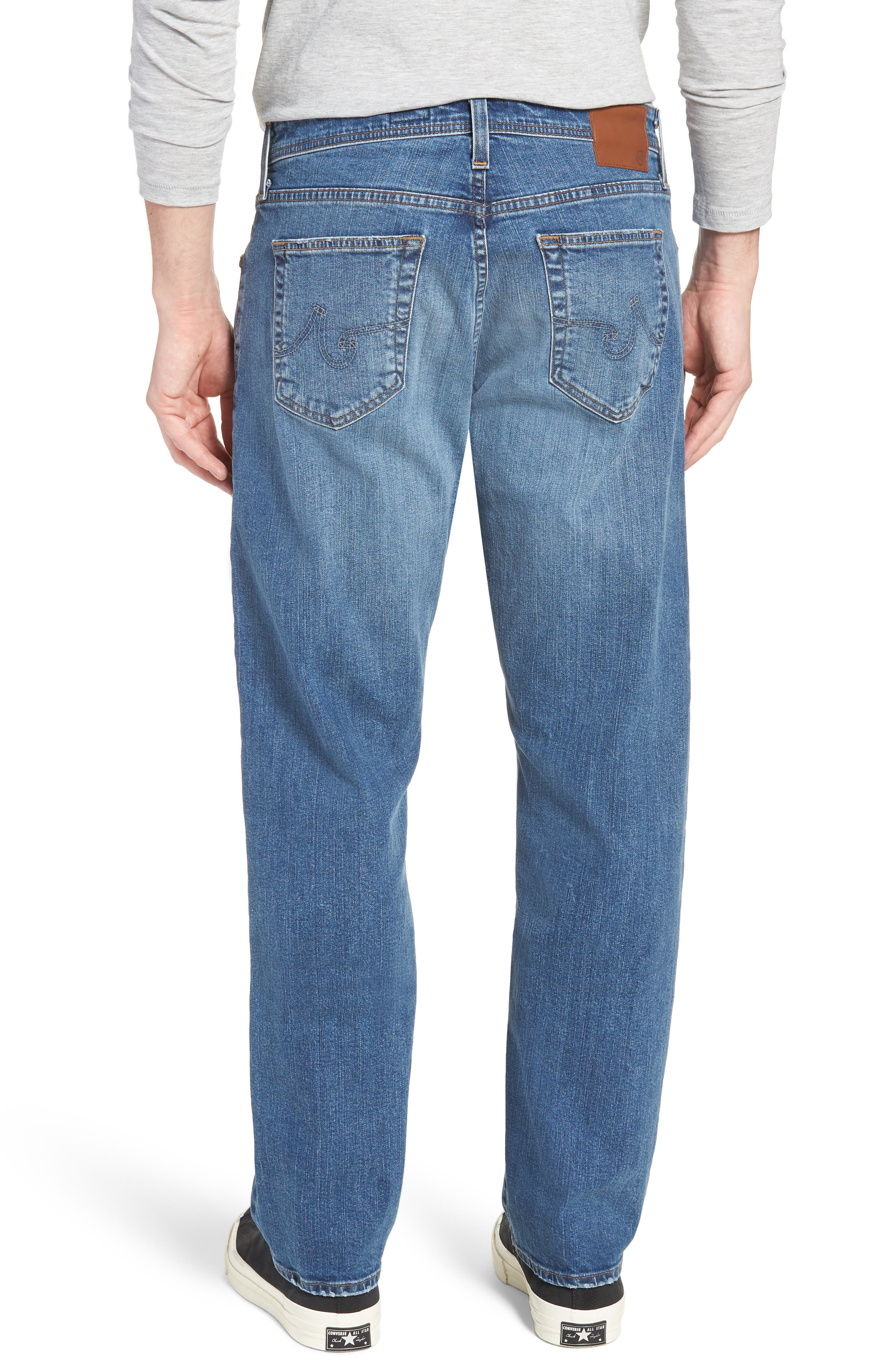 Ives Straight Leg Jeans,                             Alternate thumbnail 2, color,                             485