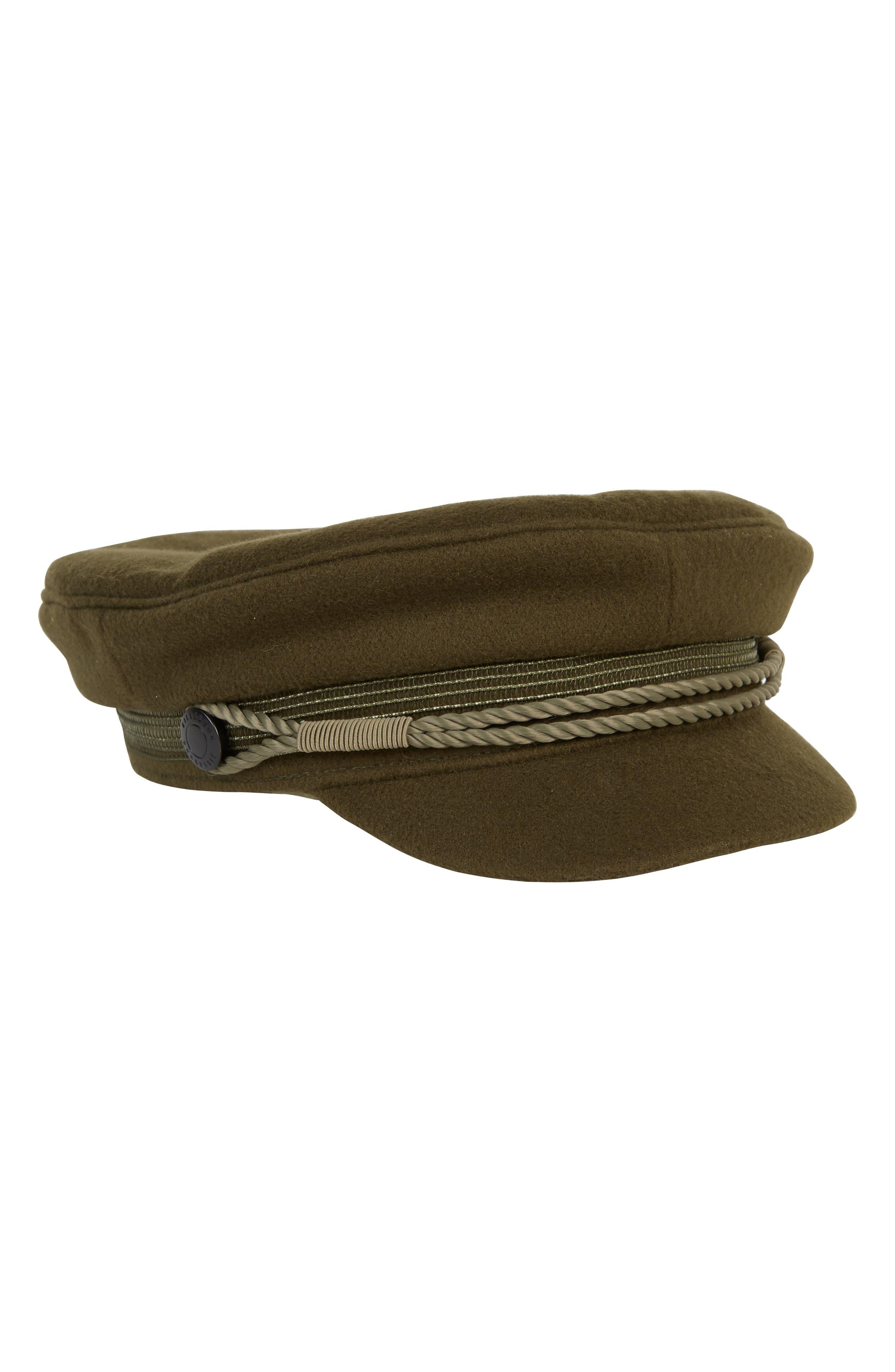 Jack Baker Boy Hat,                             Alternate thumbnail 4, color,                             OLIVE