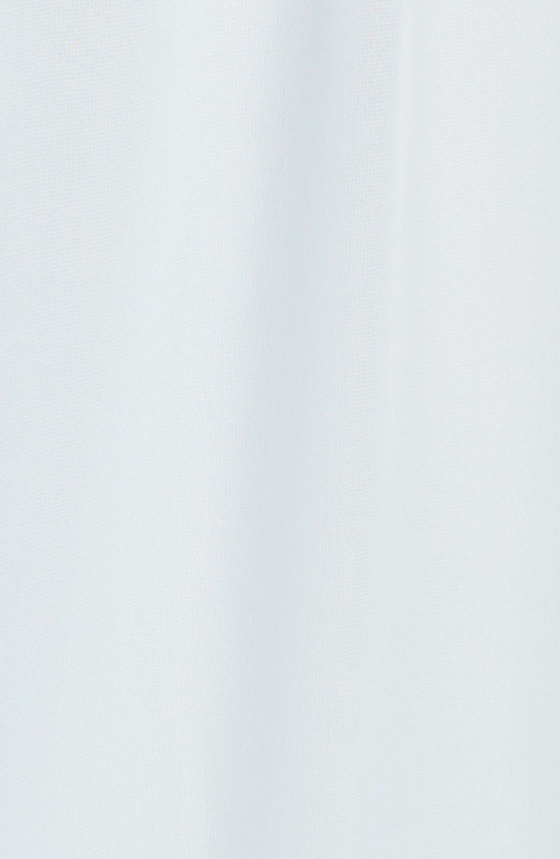 'Dani' Ruffle Neck V-Neck Halter Gown,                             Alternate thumbnail 11, color,