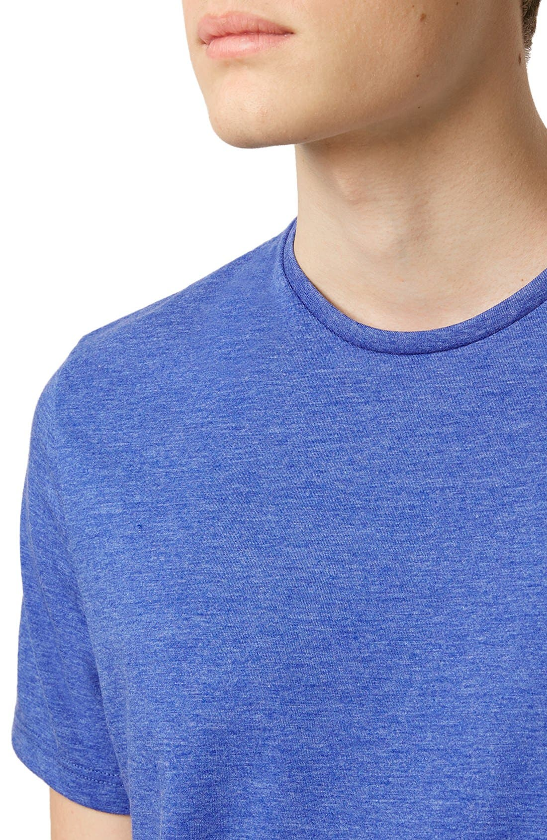 Slim Fit Crewneck T-Shirt,                             Alternate thumbnail 356, color,