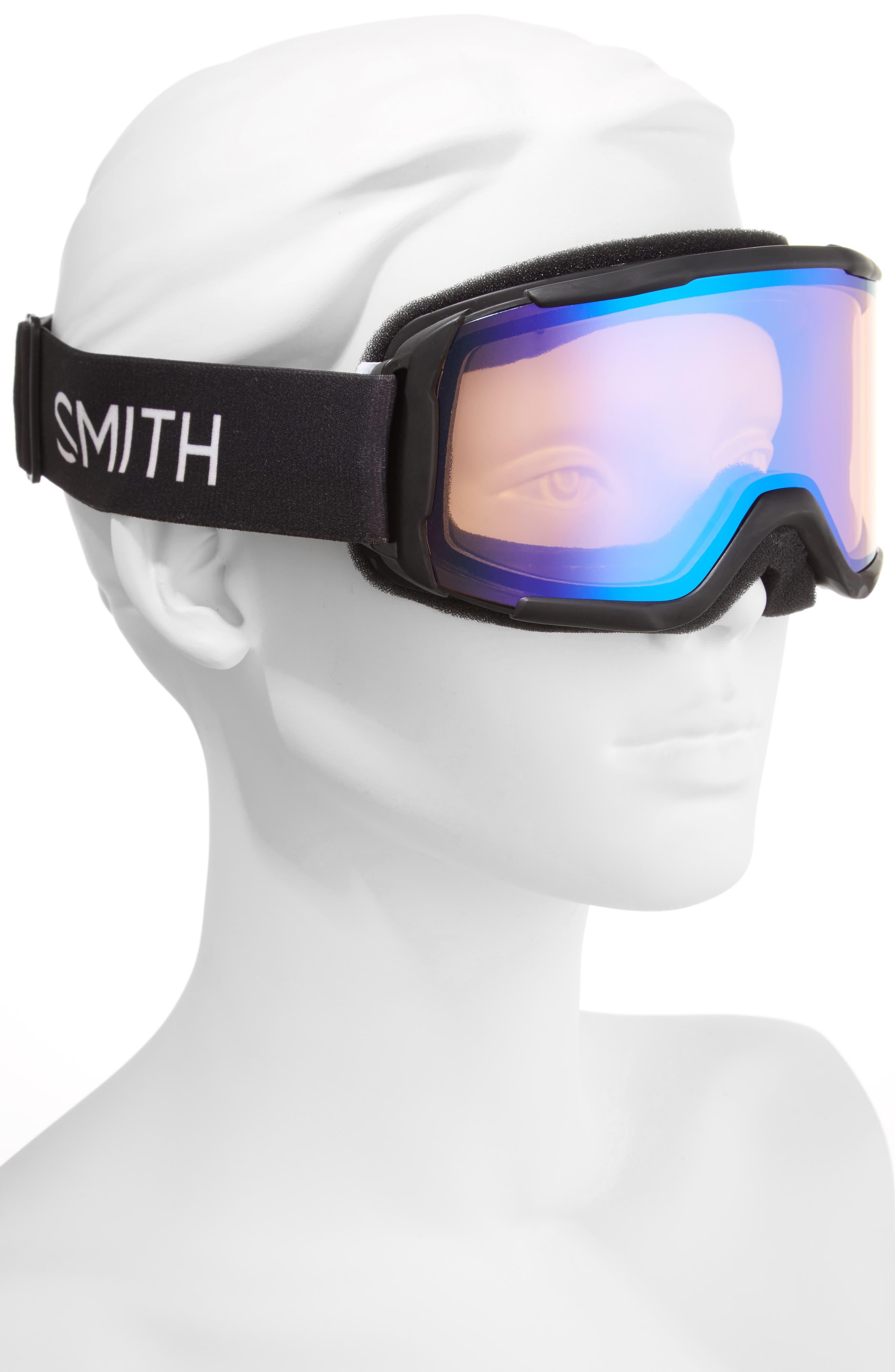 Daredevil 175mm Snow Goggles,                             Alternate thumbnail 2, color,                             BLACK/ MIRROR