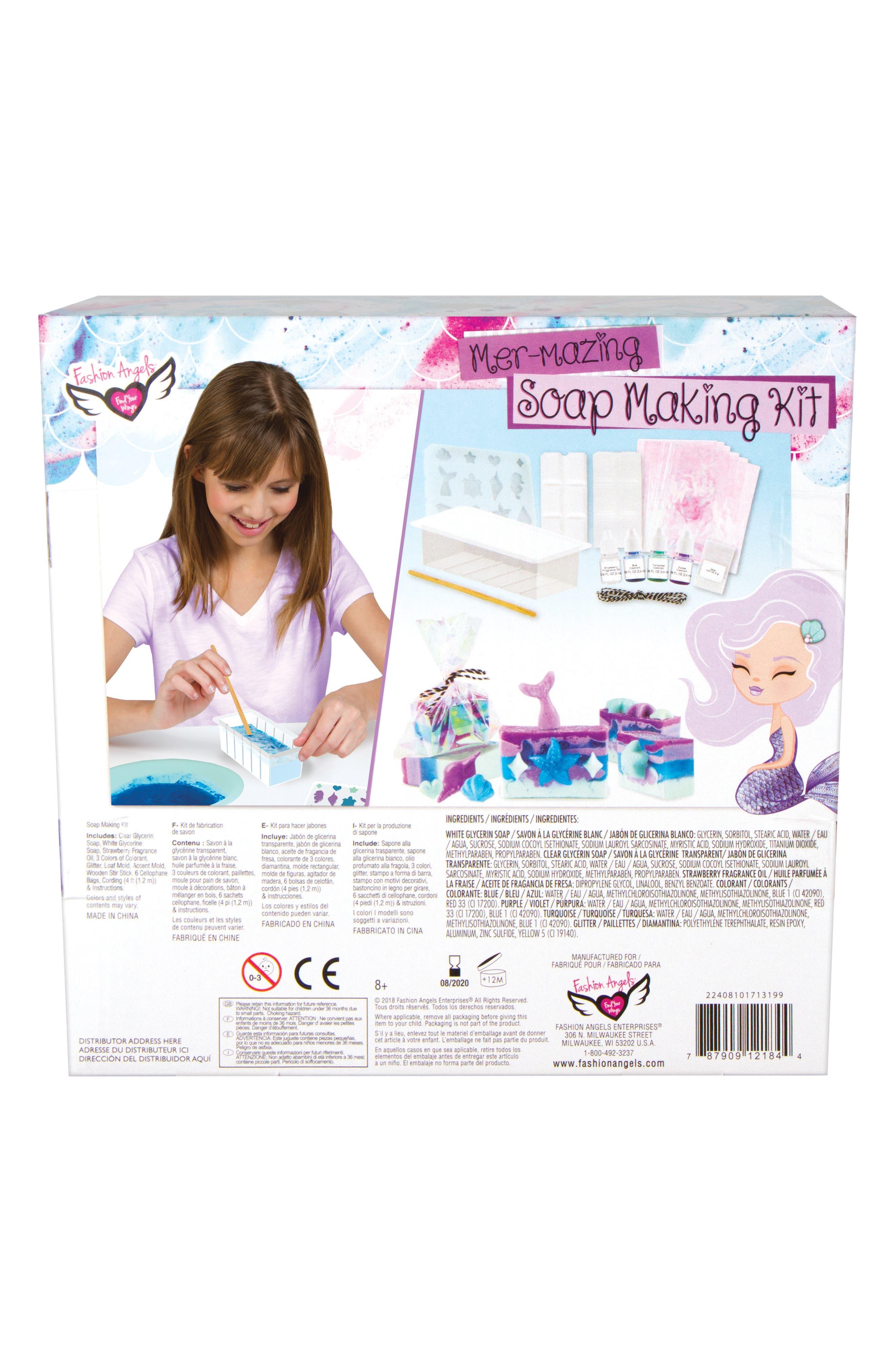 Mermaid Dreams Soapmaking Kit,                             Alternate thumbnail 2, color,                             500