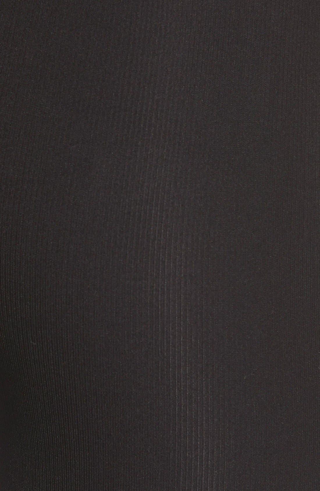 Faux Fur Lined Leggings,                             Alternate thumbnail 5, color,                             001