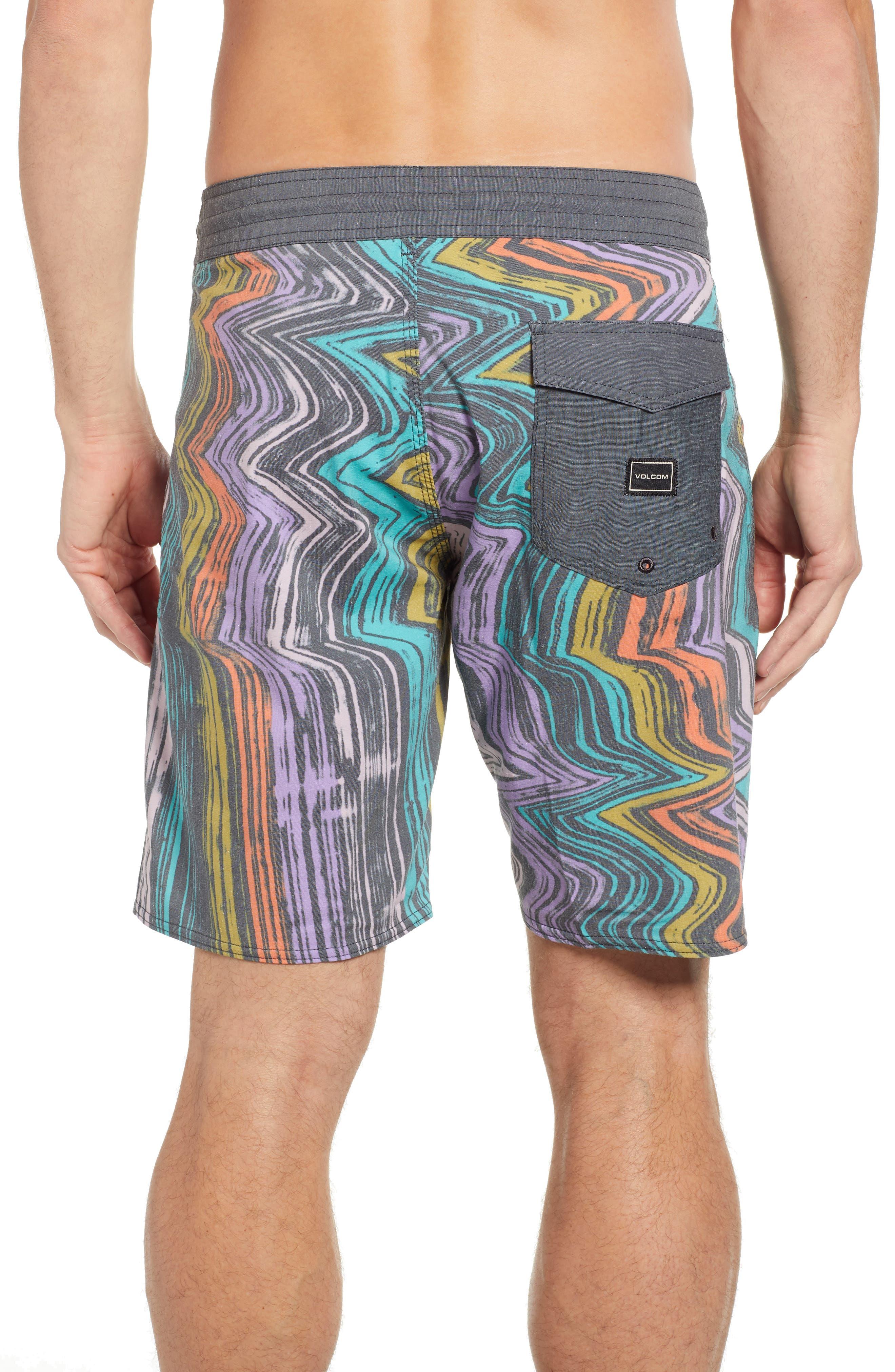 Lo-Fi Stoney Board Shorts,                             Alternate thumbnail 2, color,                             ASPHALT BLACK