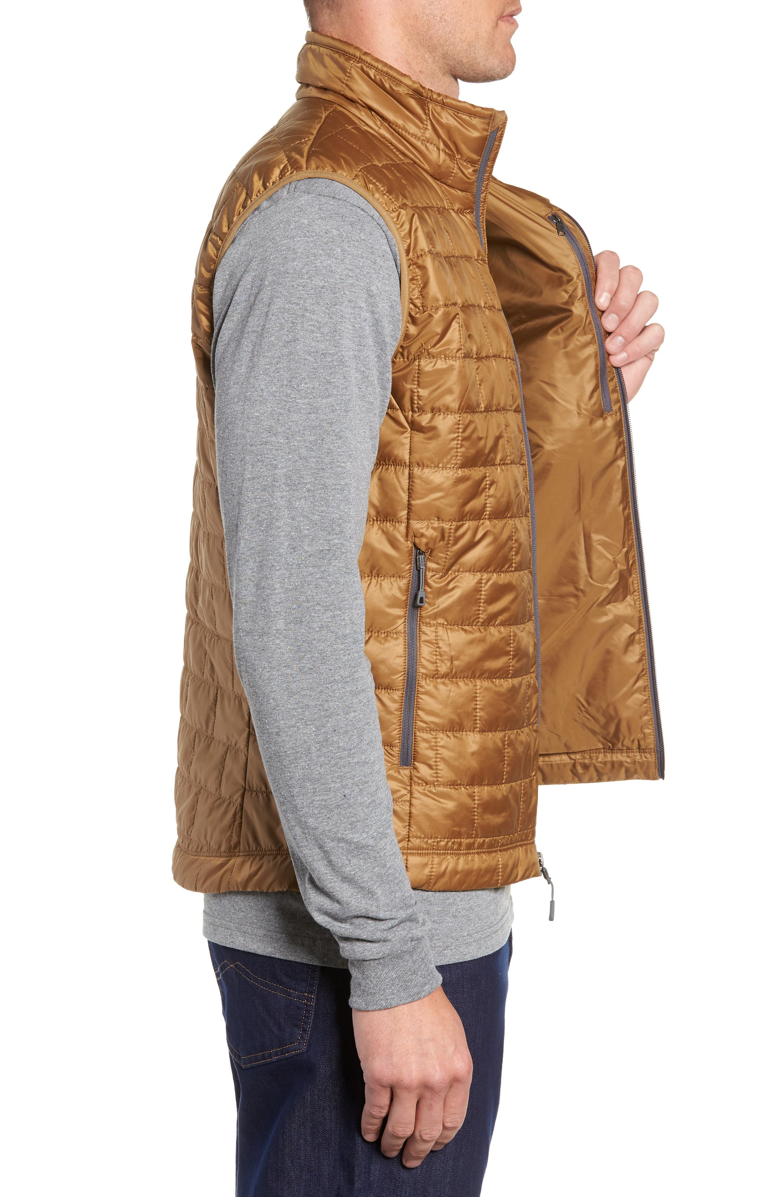 Nano Puff<sup>®</sup> Vest,                             Alternate thumbnail 3, color,                             CORIANDER BROWN