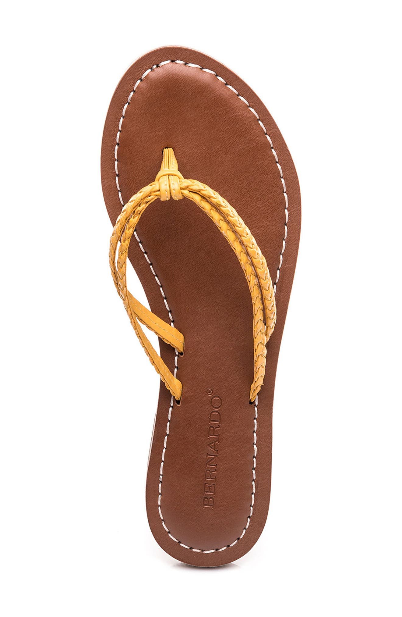 Bernardo Greta Braided Strap Sandal,                             Alternate thumbnail 34, color,