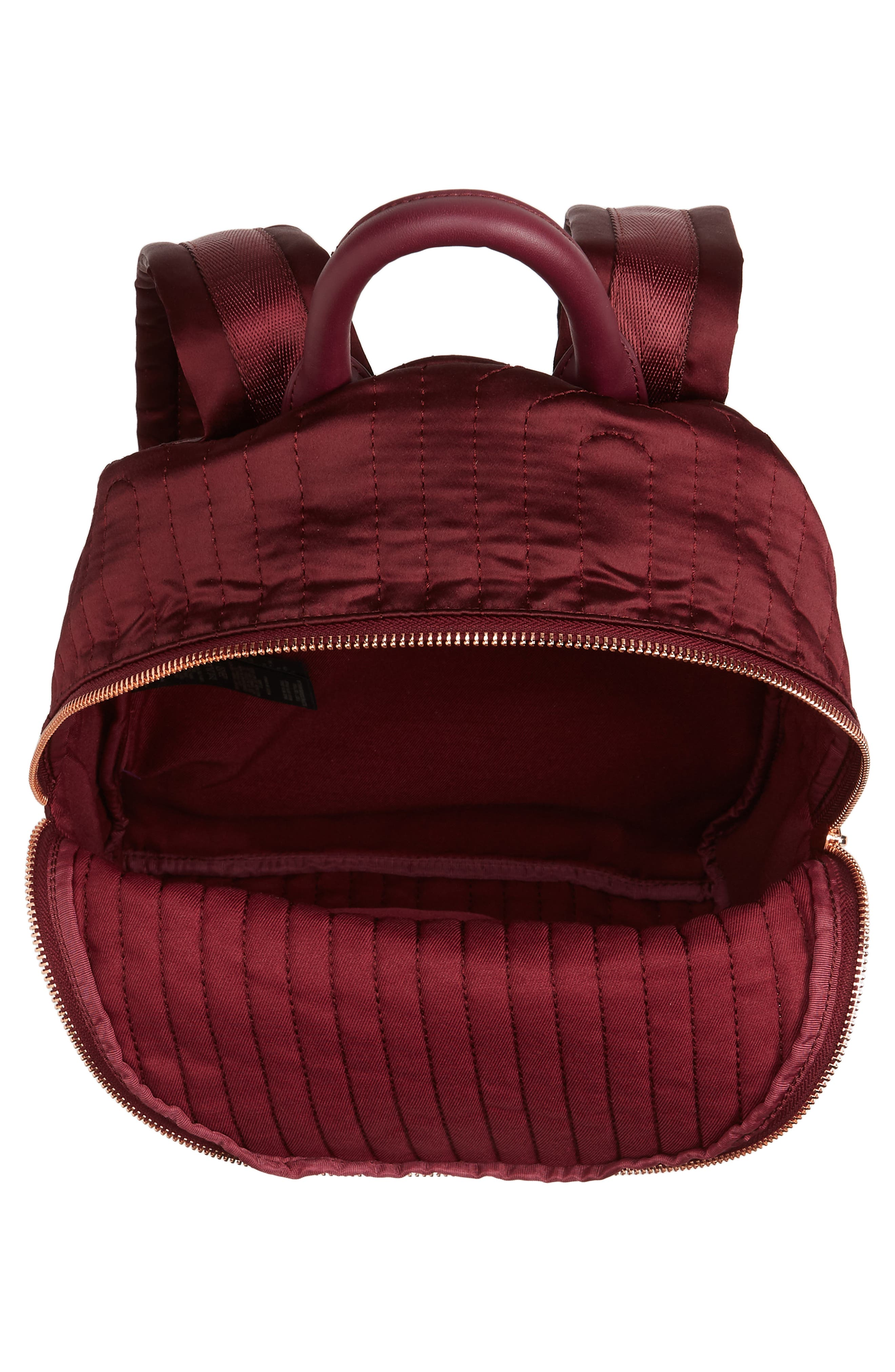 TED BAKER LONDON,                             Quilted Bow Backpack,                             Alternate thumbnail 4, color,                             210