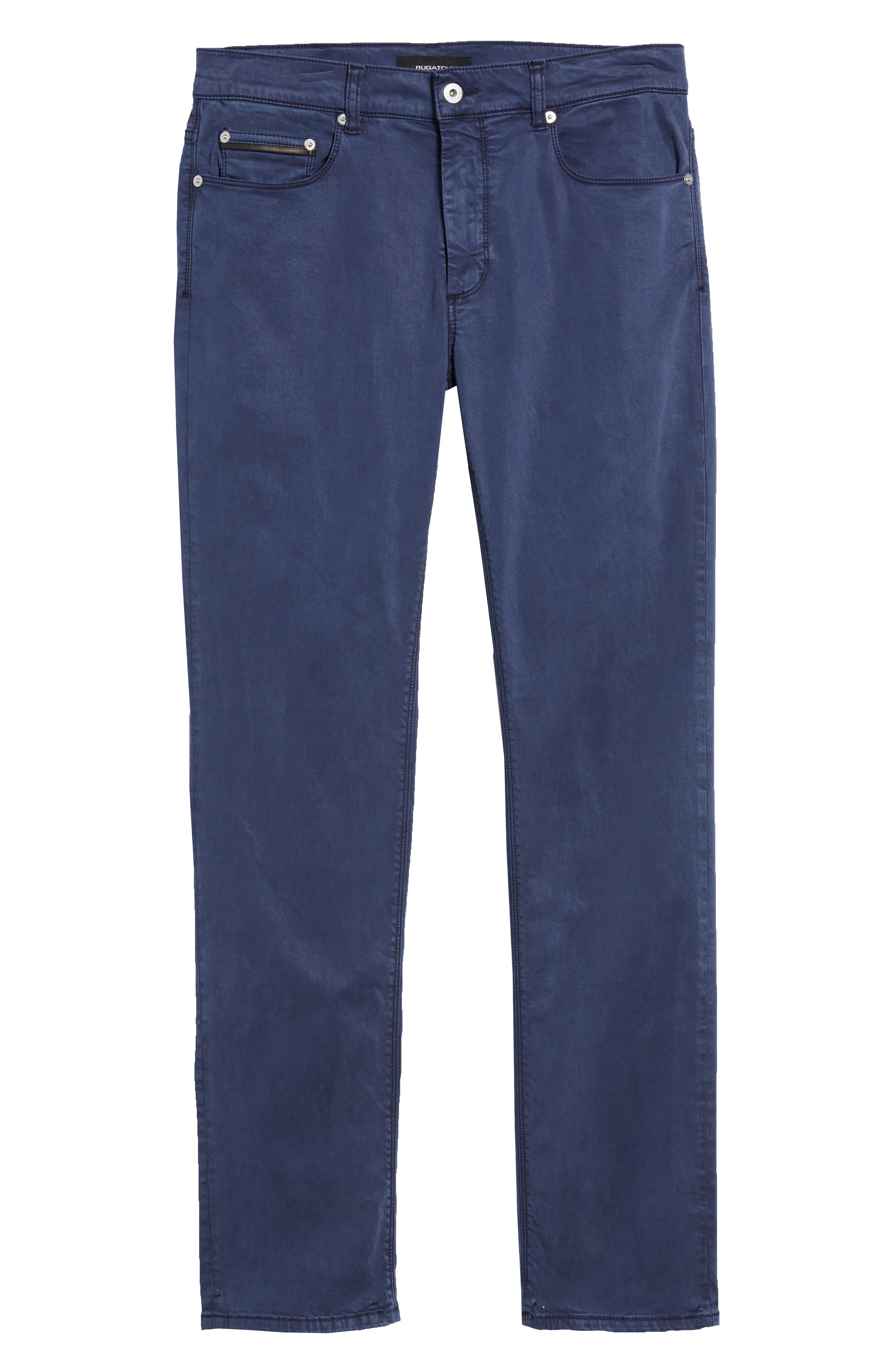 Slim Fit Washed Five-Pocket Pants,                             Alternate thumbnail 23, color,
